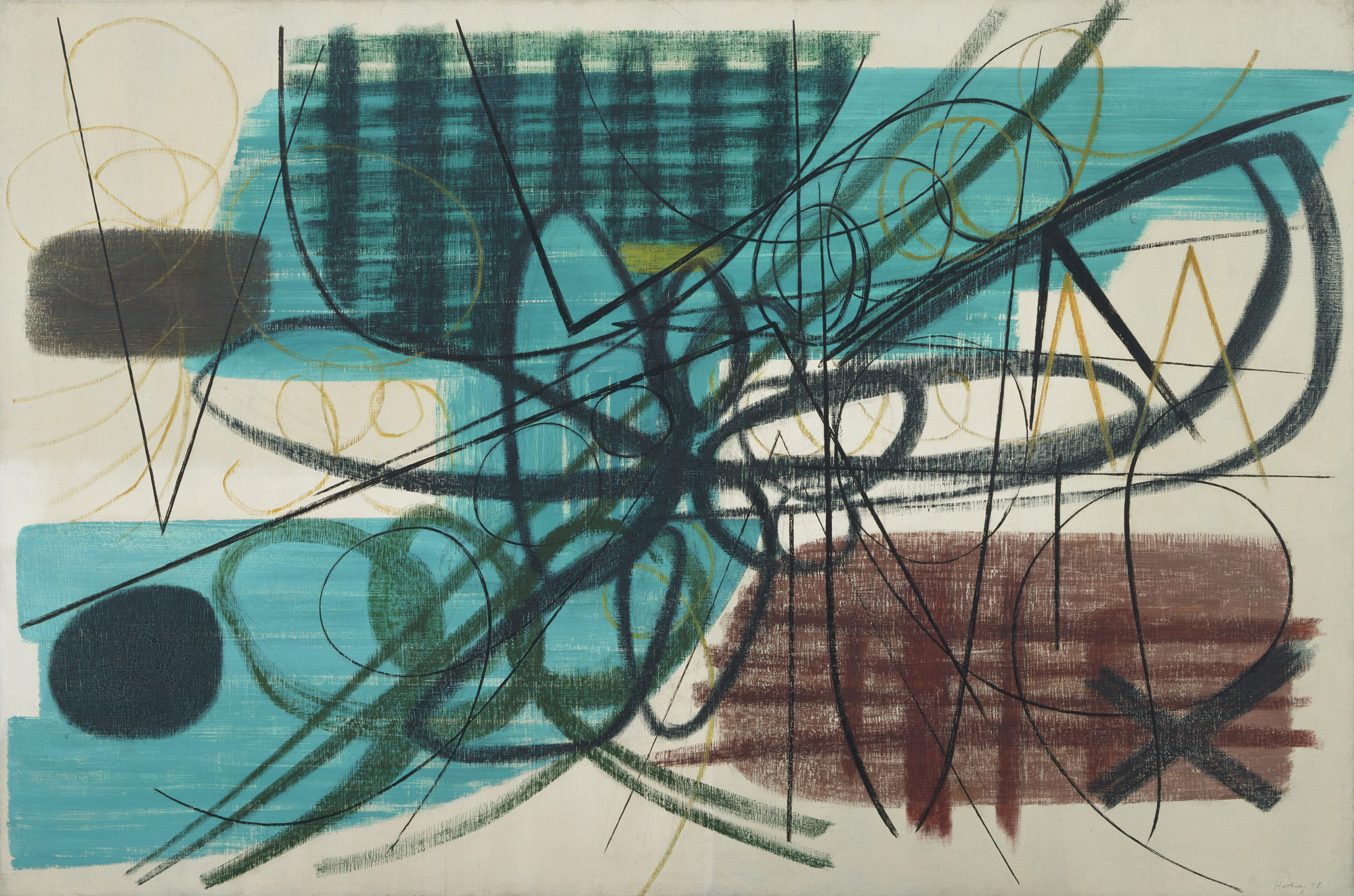 Hans Hartung. Painting. 1948