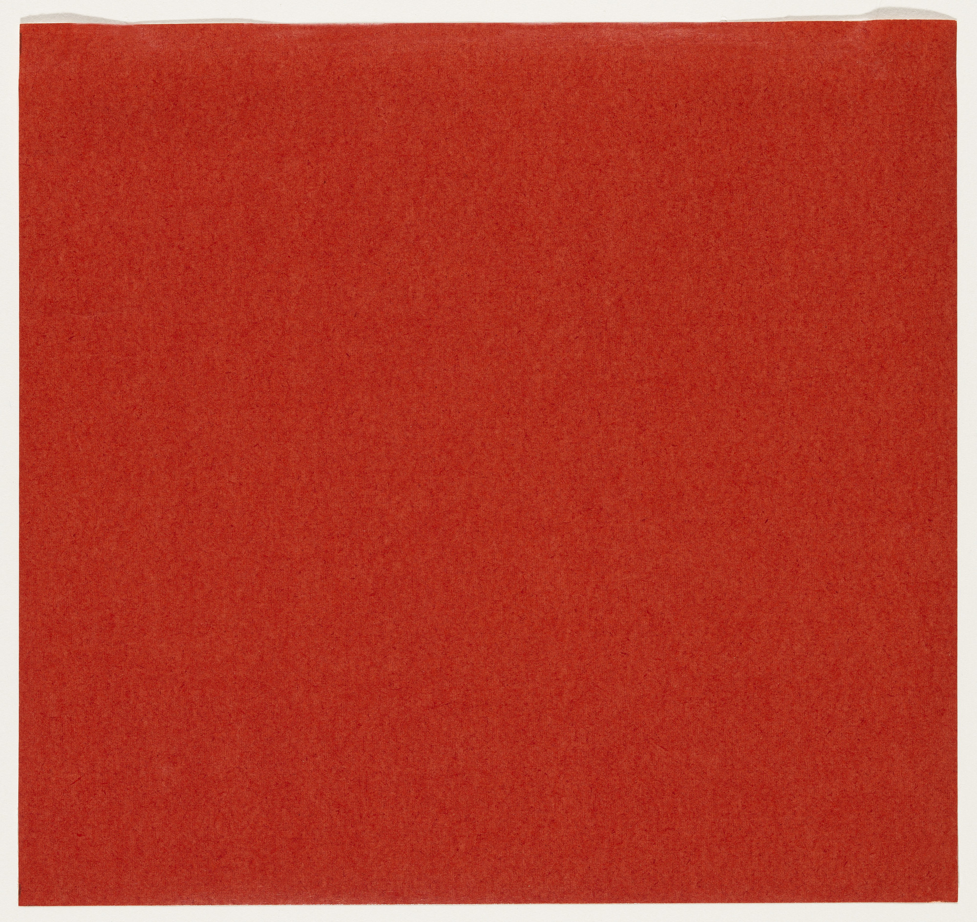 Ellsworth Kelly. Red from the series Line Form Color. 1951