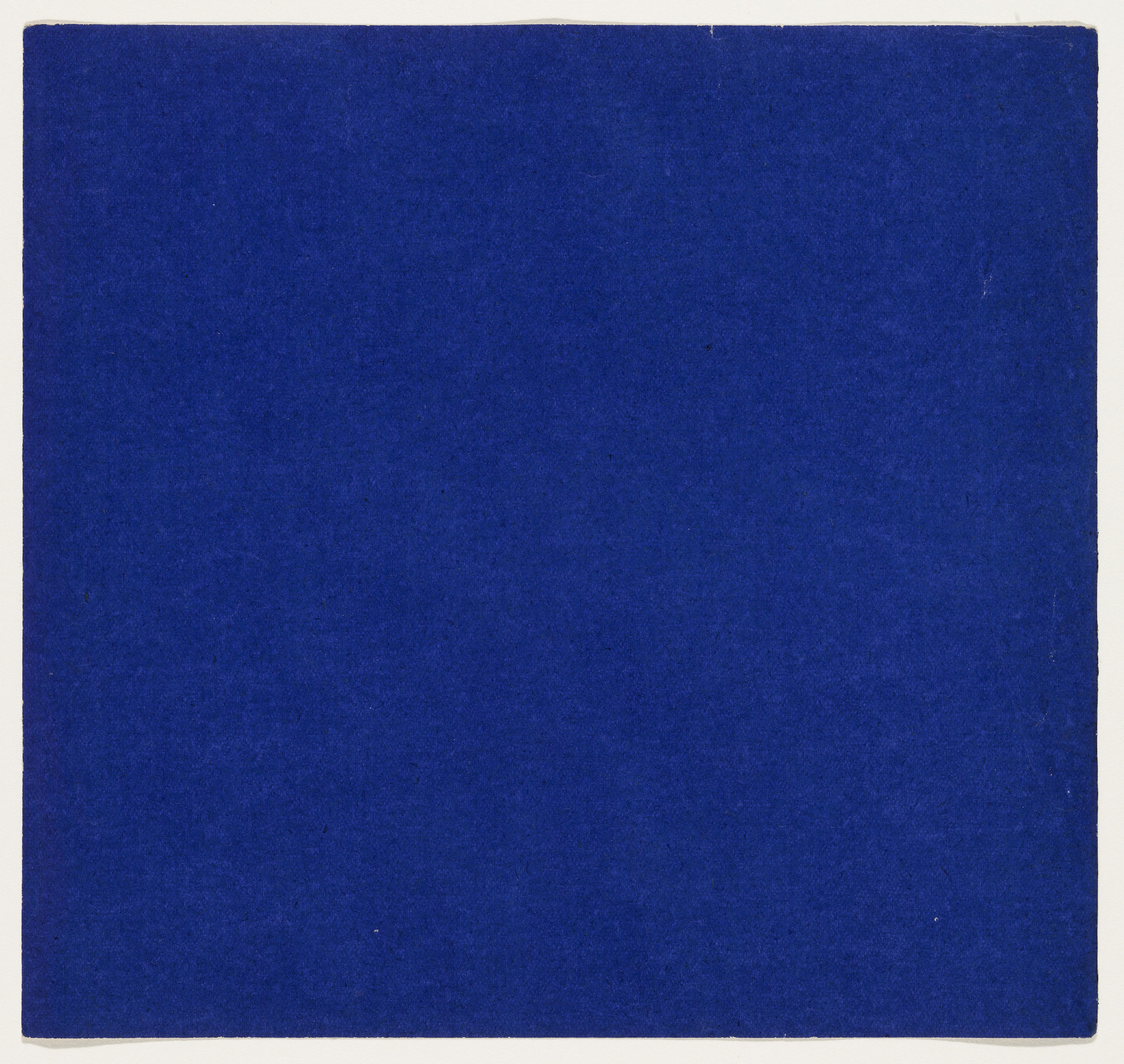 Ellsworth Kelly. Blue from the series Line Form Color. 1951