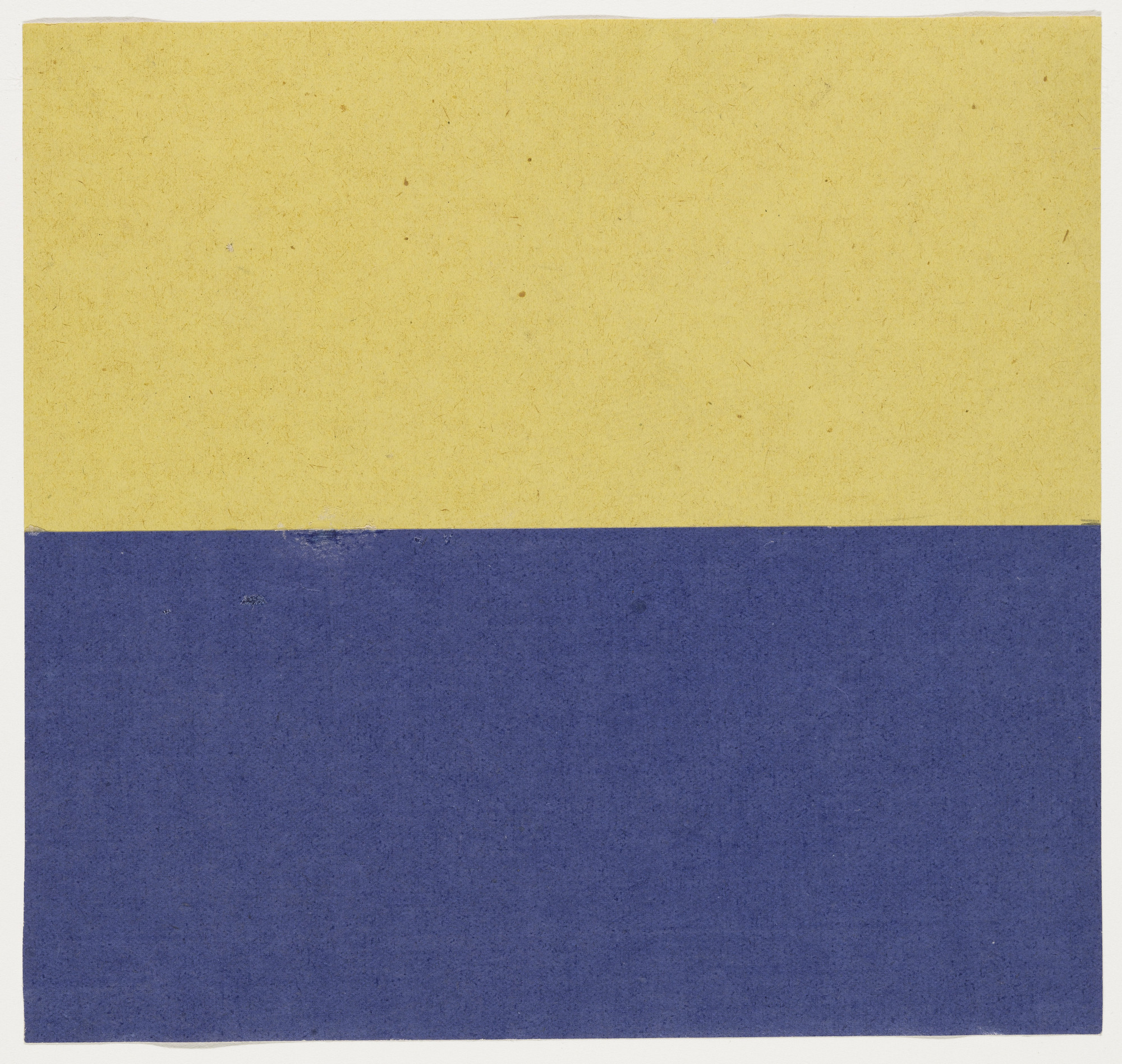 Ellsworth Kelly. Yellow and Blue. 1951