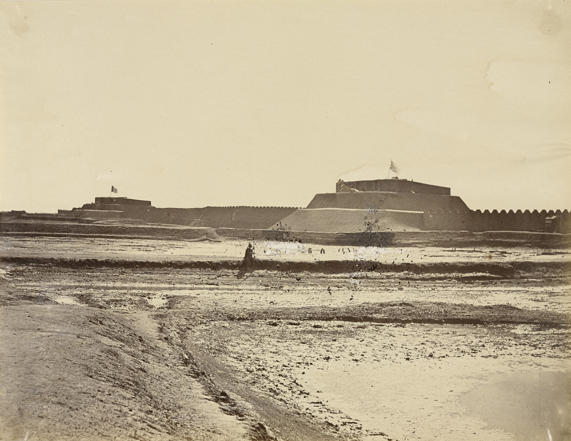 Felice Beato. Pehtang Fort. August 1, 1860