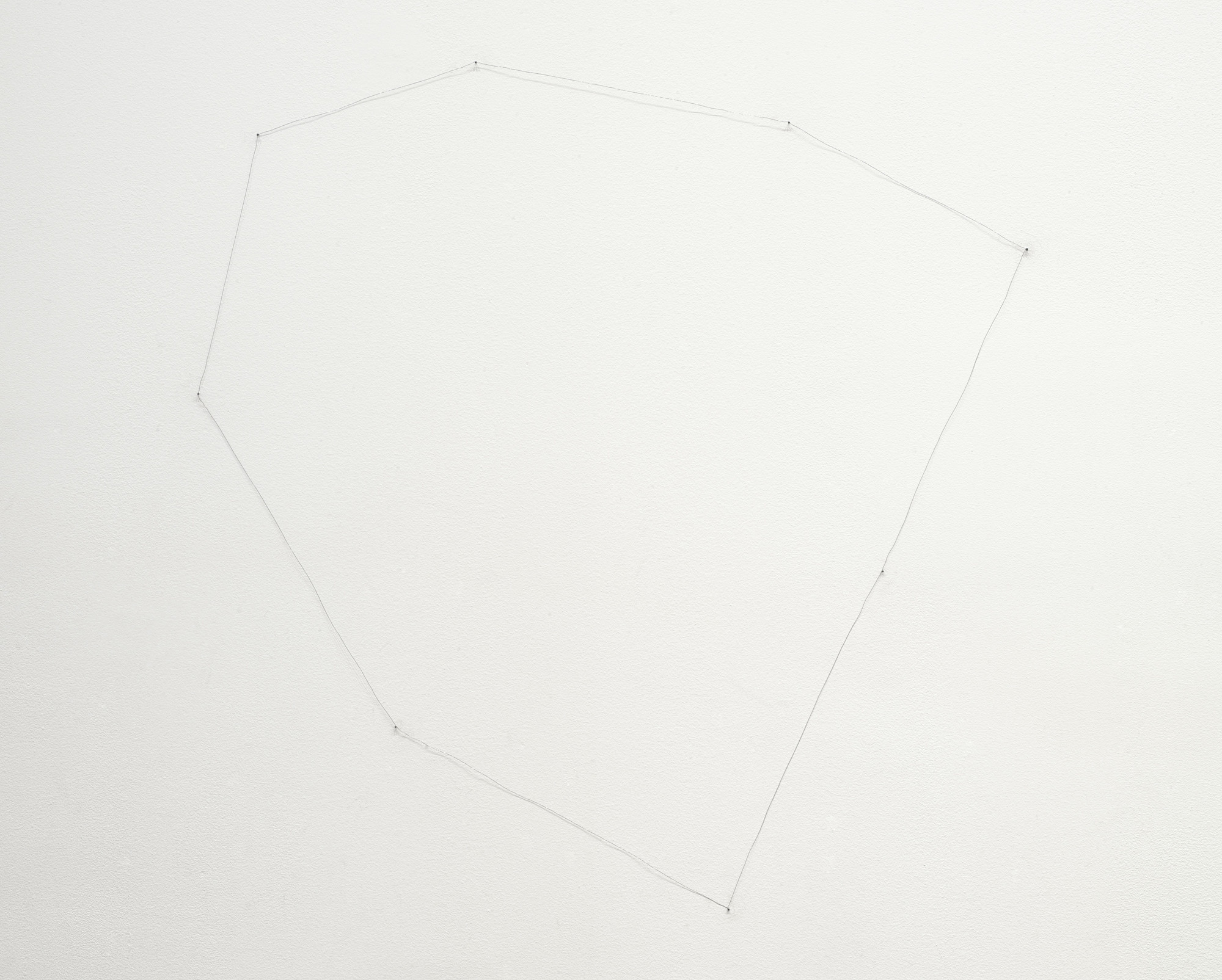Richard Tuttle. 12th Wire Octagonal. 1971