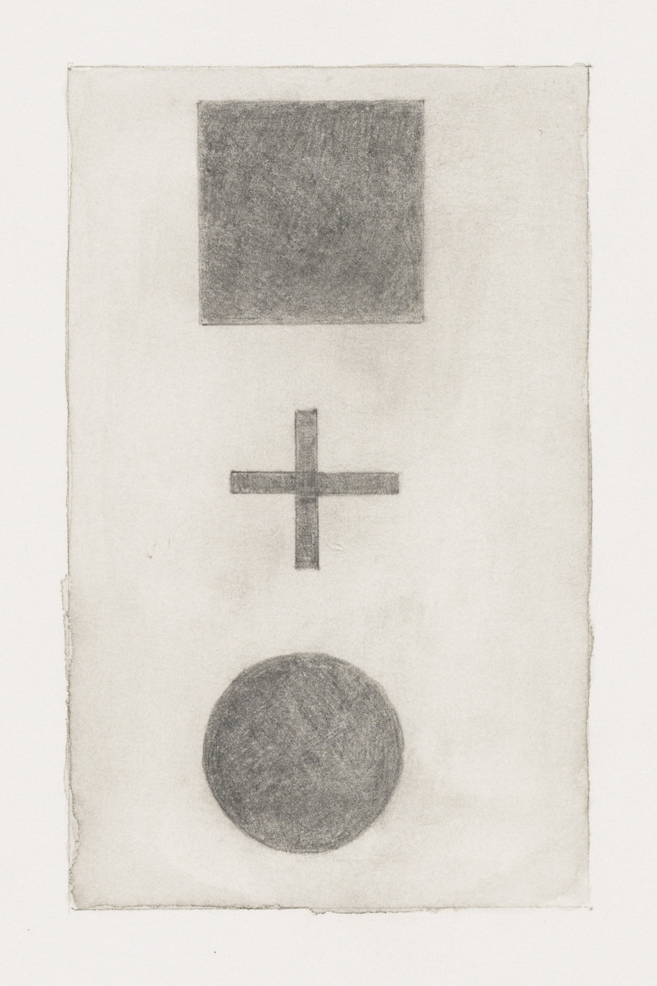Sherrie Levine. Untitled (After Malevich and Schiele), from the 1917 exhibition, Nature Morte Gallery, New York. 1984