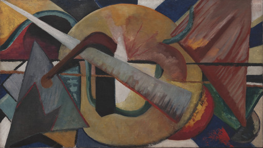 Katherine S. Dreier. Abstract Portrait of Marcel Duchamp. 1918