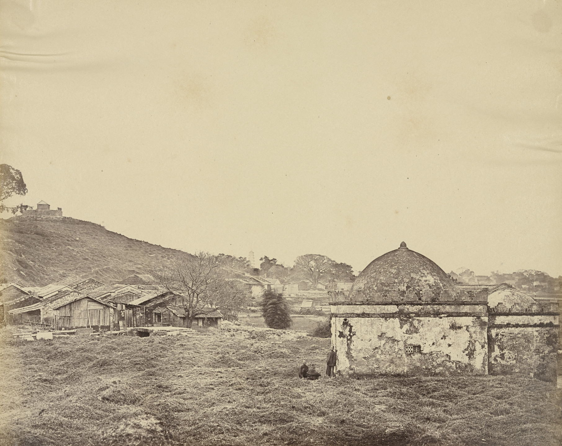 Felice Beato. Mohammedan Temple, Near Canton. April 1860