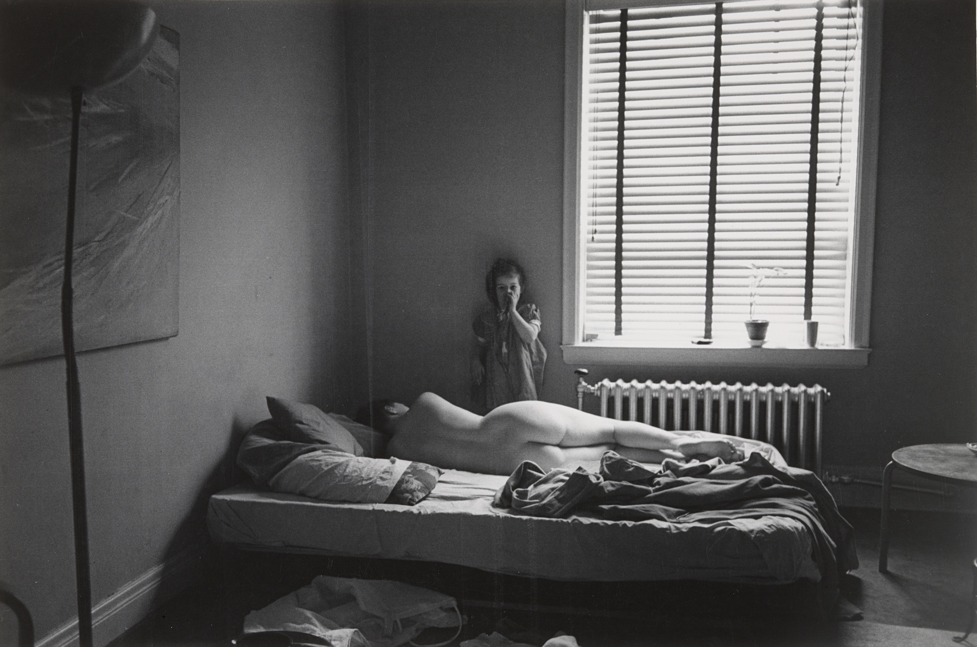 Harry Callahan. Eleanor and Barbara, Chicago. 1954