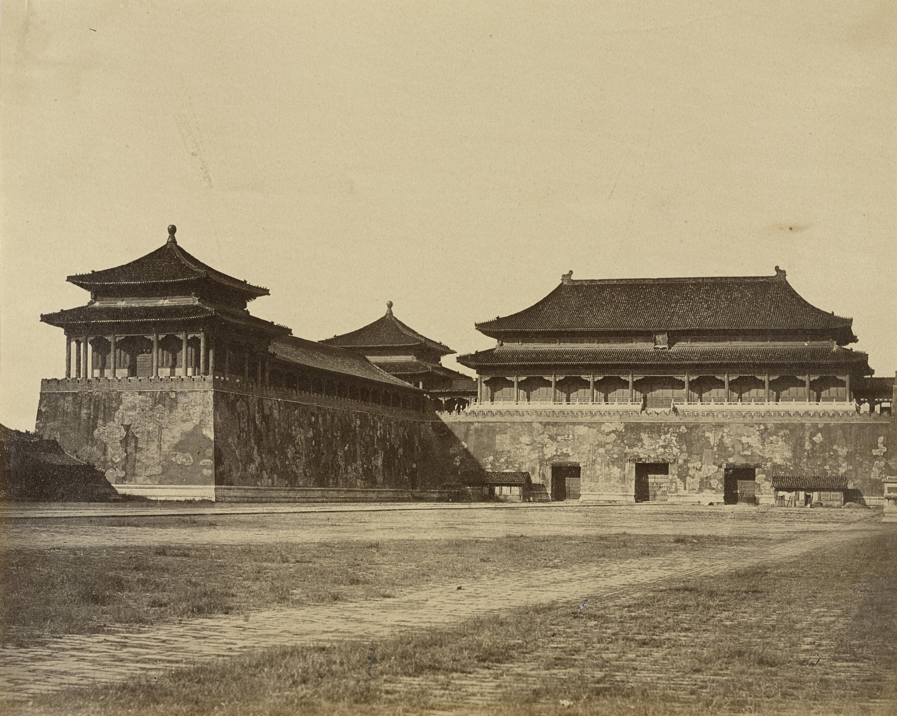 Felice Beato. The Great Imperial Palace, Pekin. October 29, 1860