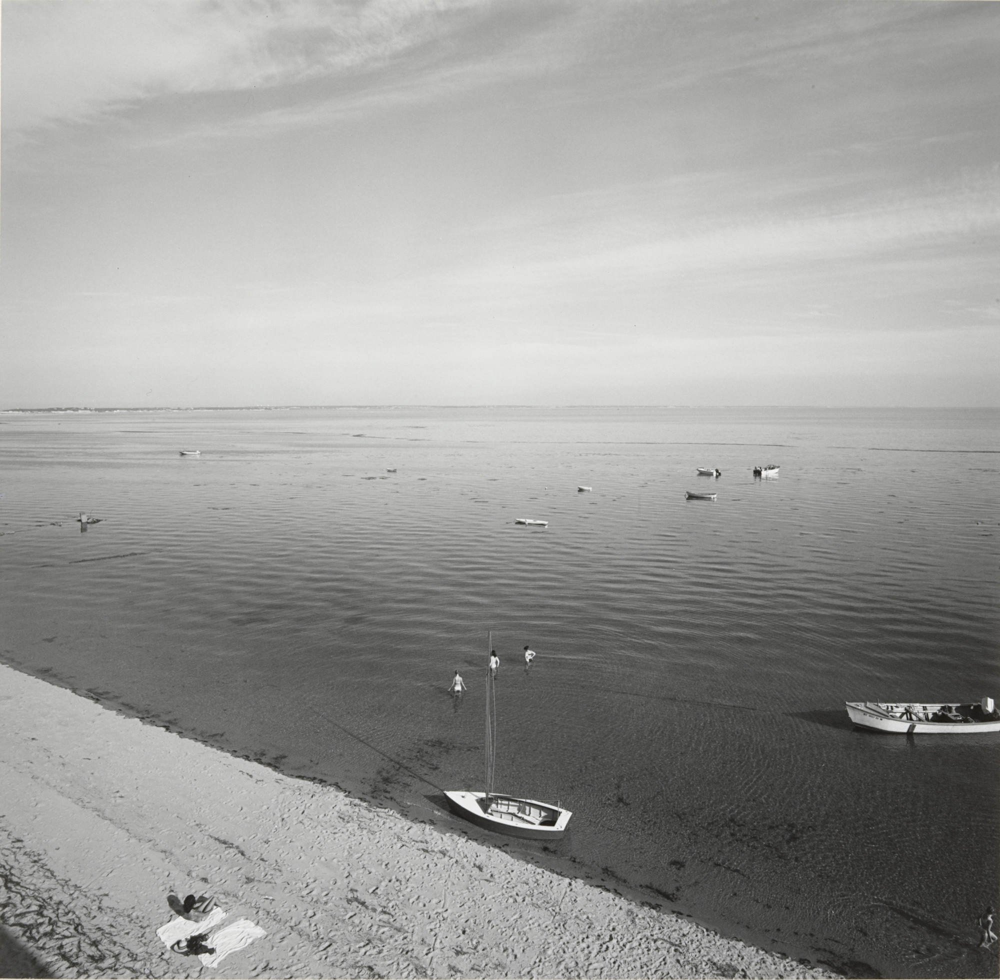 Harry Callahan. Cape Cod. 1972