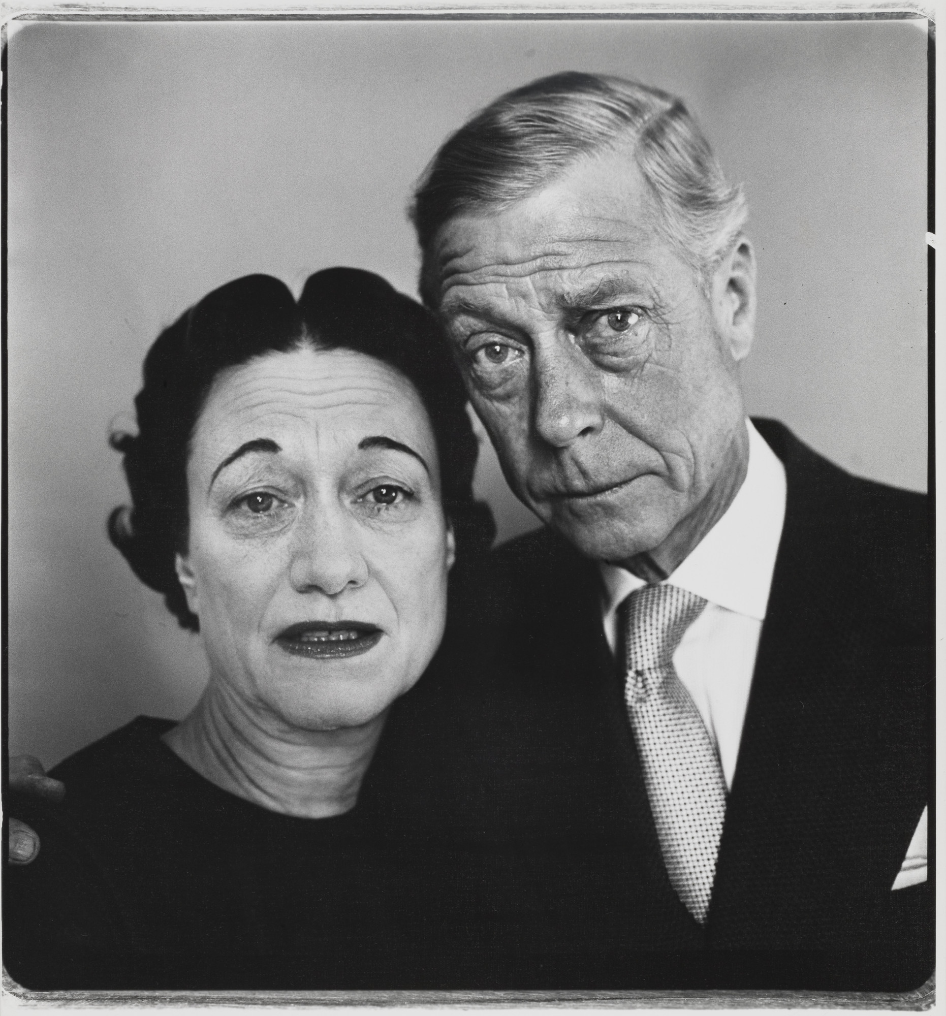Richard Avedon. The Duke and Duchess of Windsor, Waldorf Astoria, Suite 28A, New York. April 16, 1957