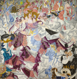 Gino Severini. Dynamic Hieroglyphic of the Bal Tabarin. 1912