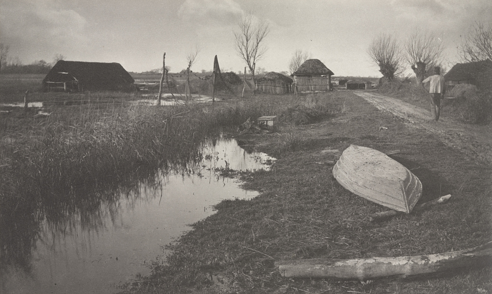 Peter Henry Emerson, T. F. Goodall. 'Twixt Land and Water from Life and Landscape on the Norfolk Broads (London, 1886). c. 1885