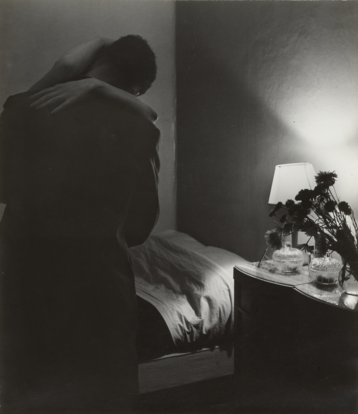 Bill Brandt. Soho Bedroom. 1934