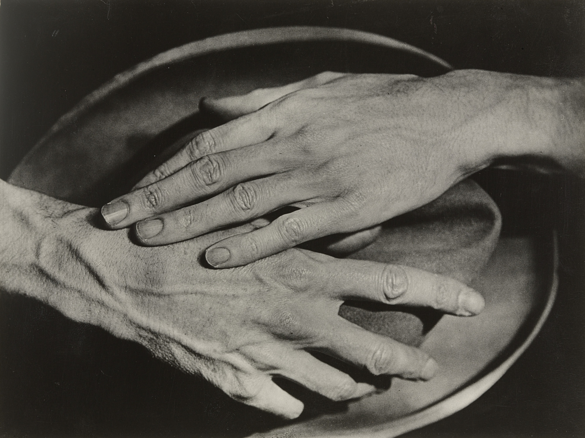 Berenice Abbott. Hands of Jean Cocteau. 1927