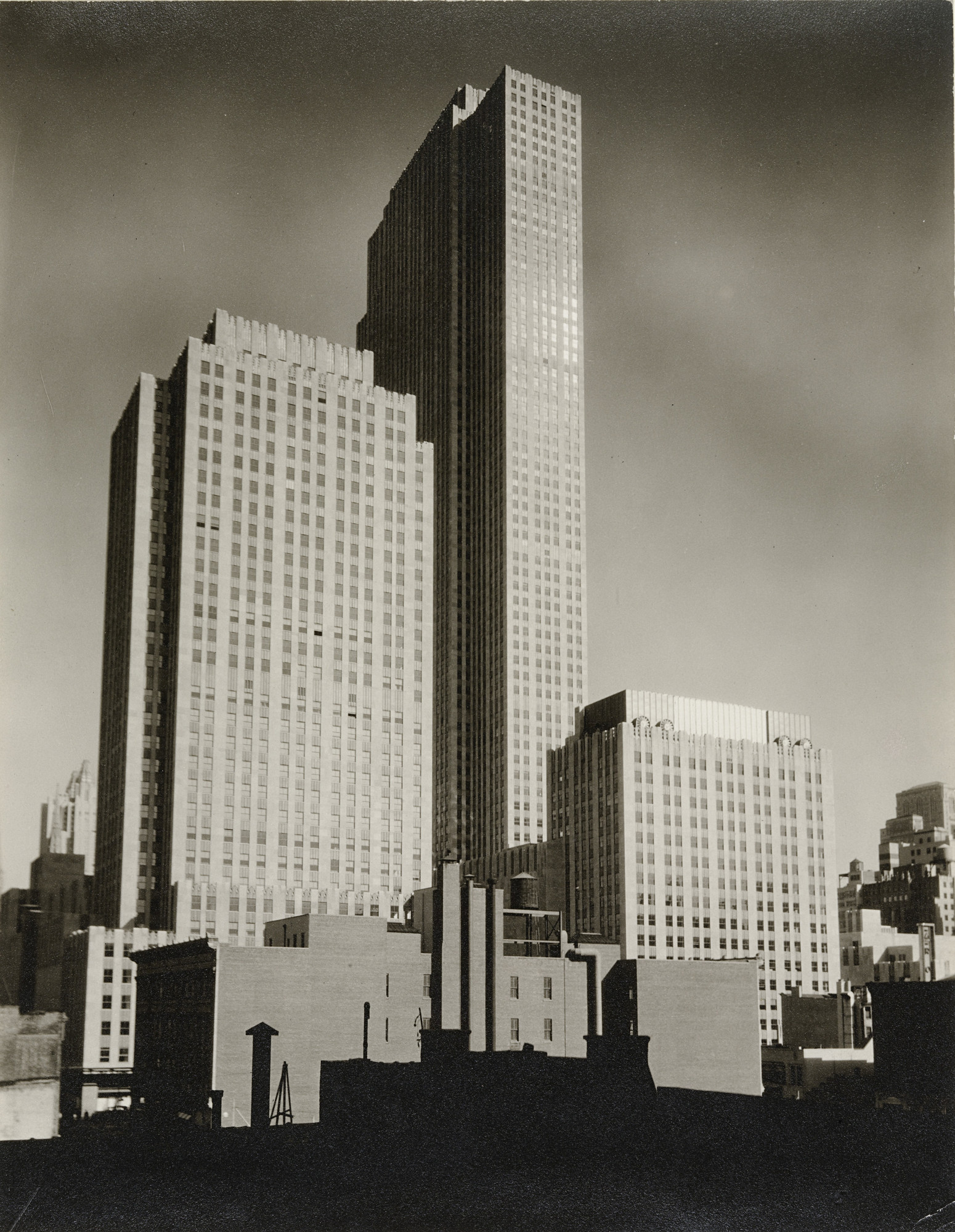 Berenice Abbott. Rockefeller Center. c. 1936