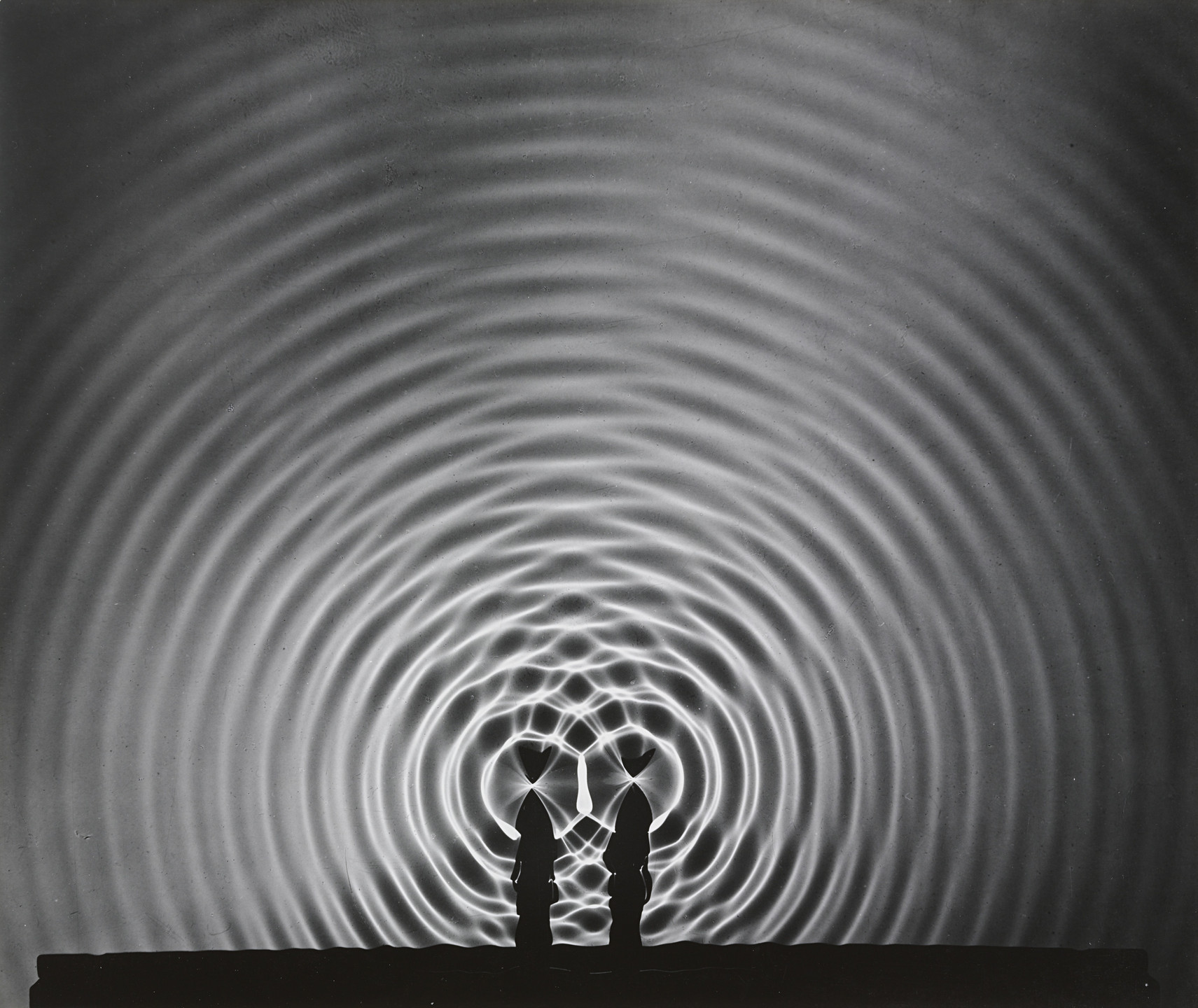 Berenice Abbott. Interference of Waves. 1958-61