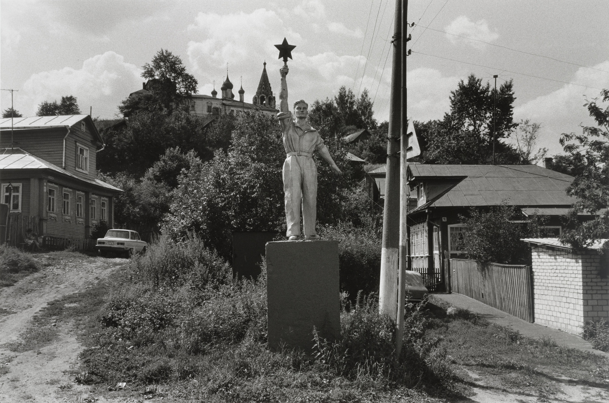 Igor Moukhin. Gorohovets, the Monument of the Worker. 1992