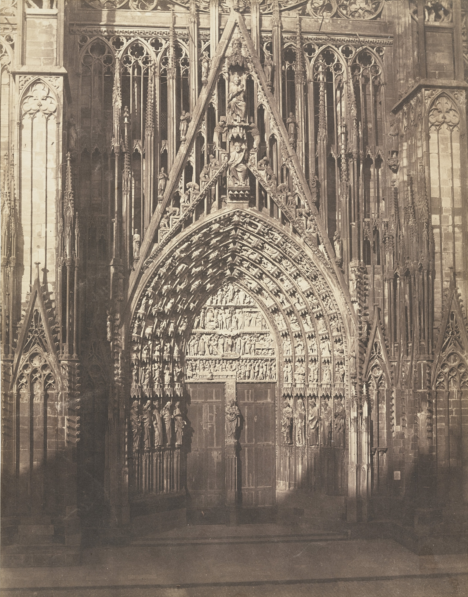Charles Winter. Strasbourg Cathedral. 1850s