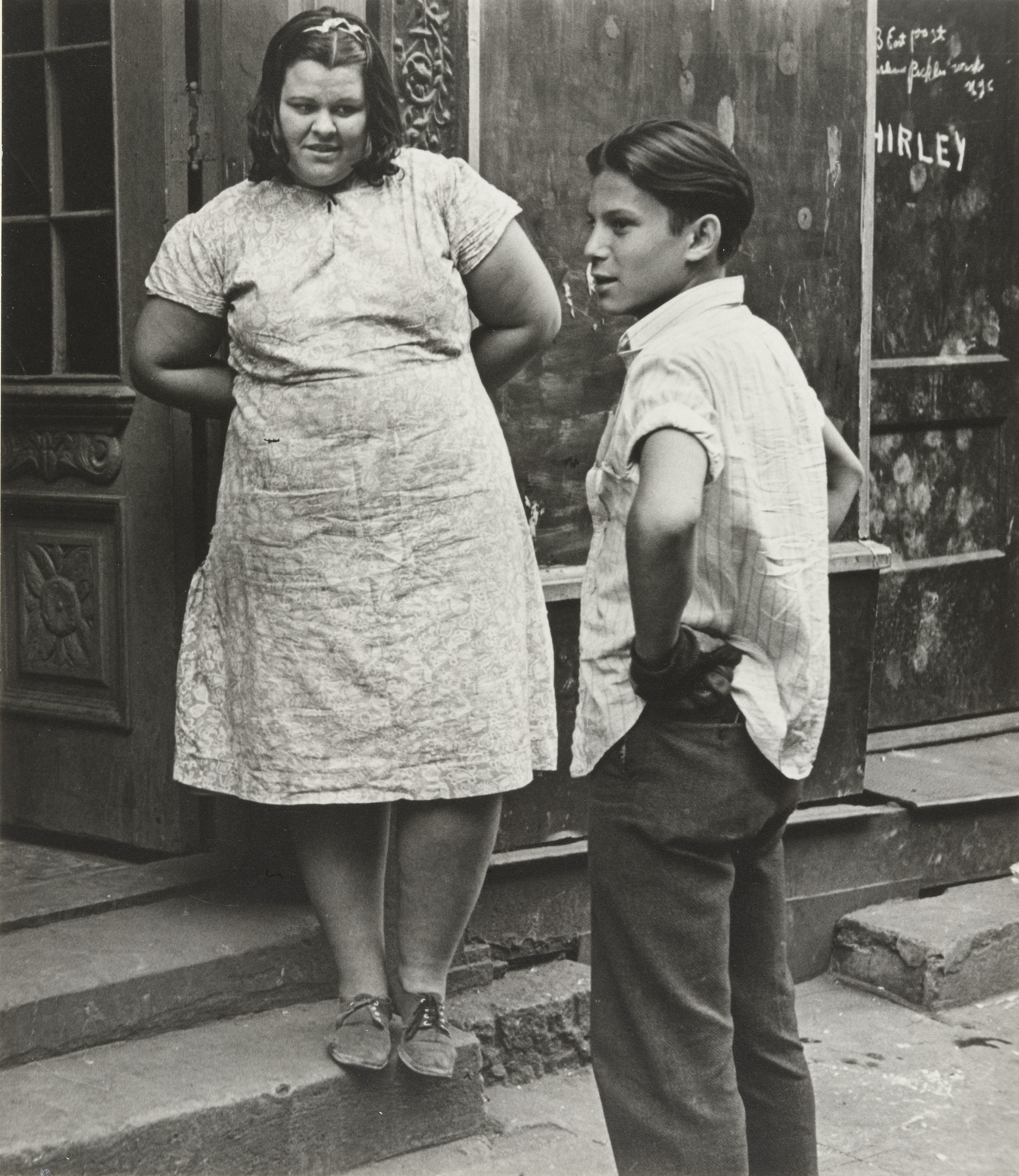 Helen Levitt. New York. 1941