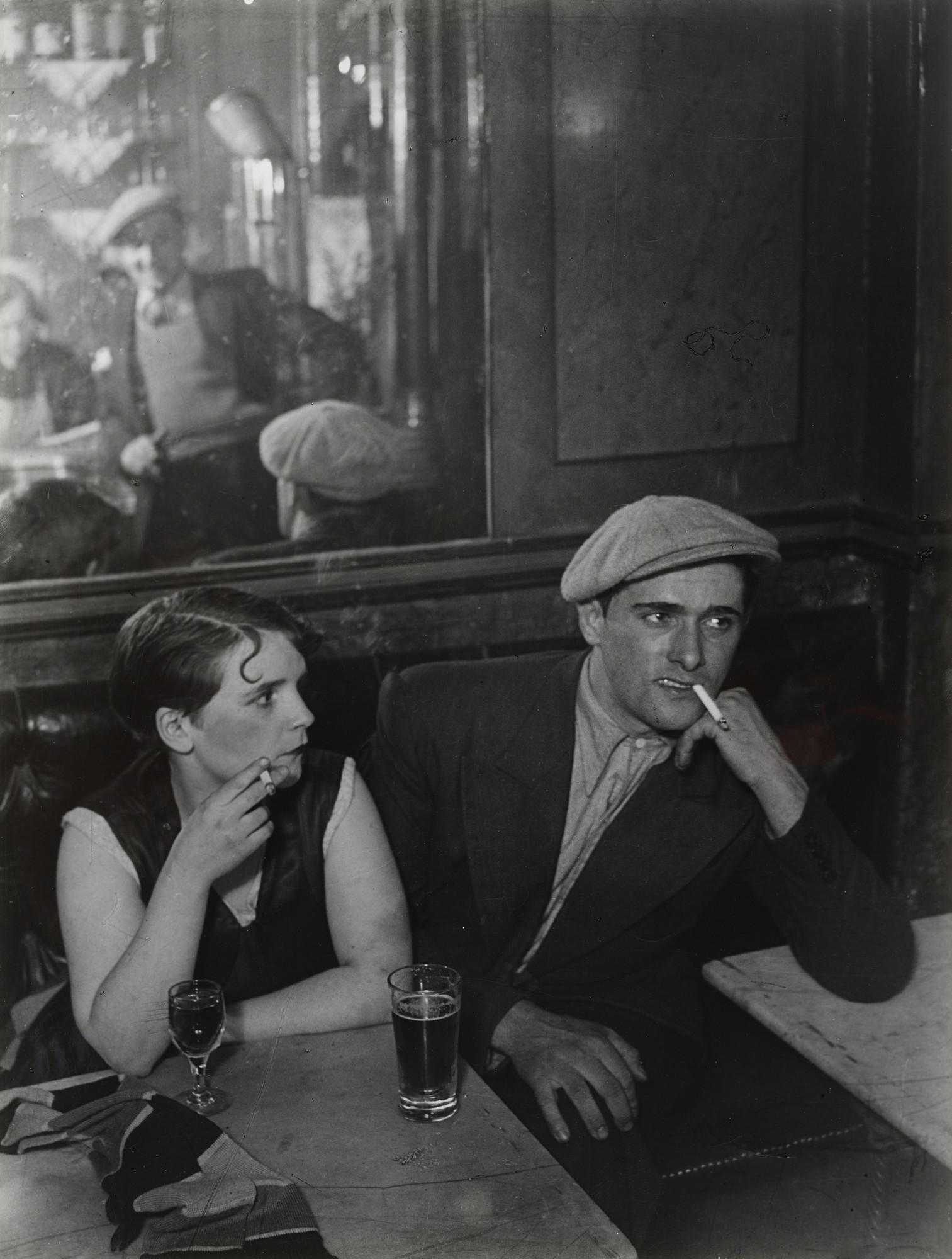 Brassaï (Gyula Halász). Couple in Bar, rue Saint-Denis, Paris. c. 1931