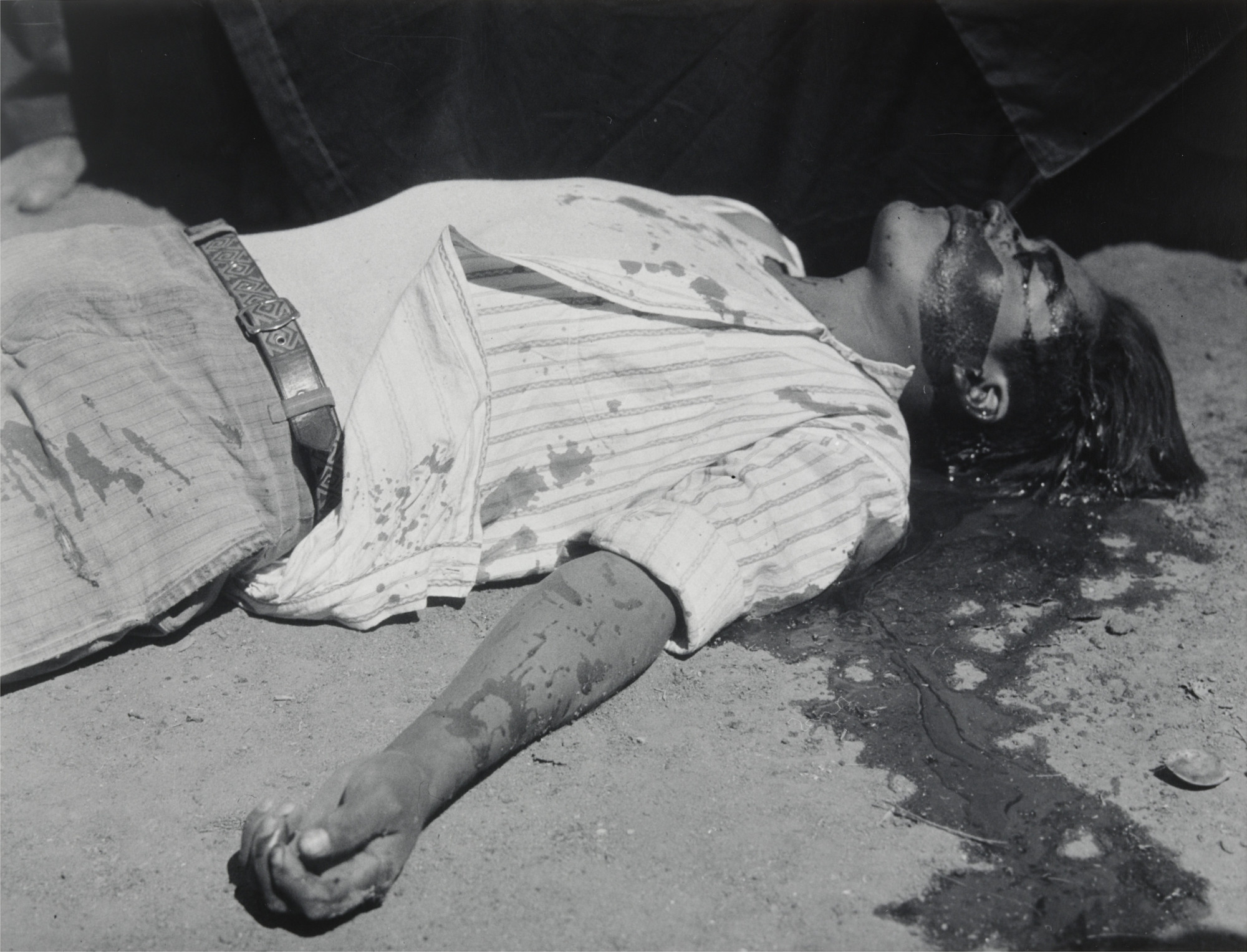Manuel Álvarez Bravo. Striking Worker, Assassinated. 1934