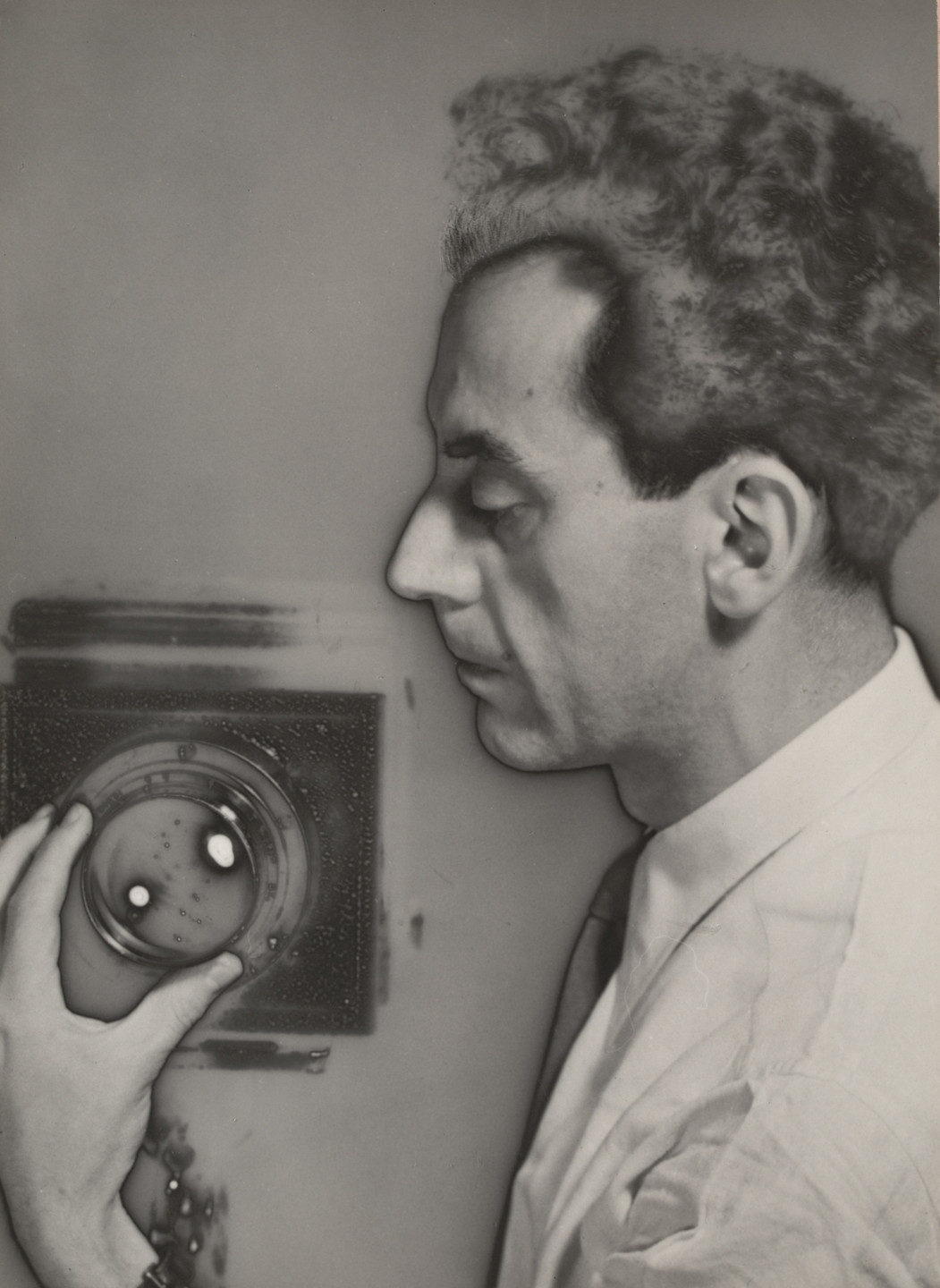 Man Ray (Emmanuel Radnitzky). Self-Portrait with Camera. 1931