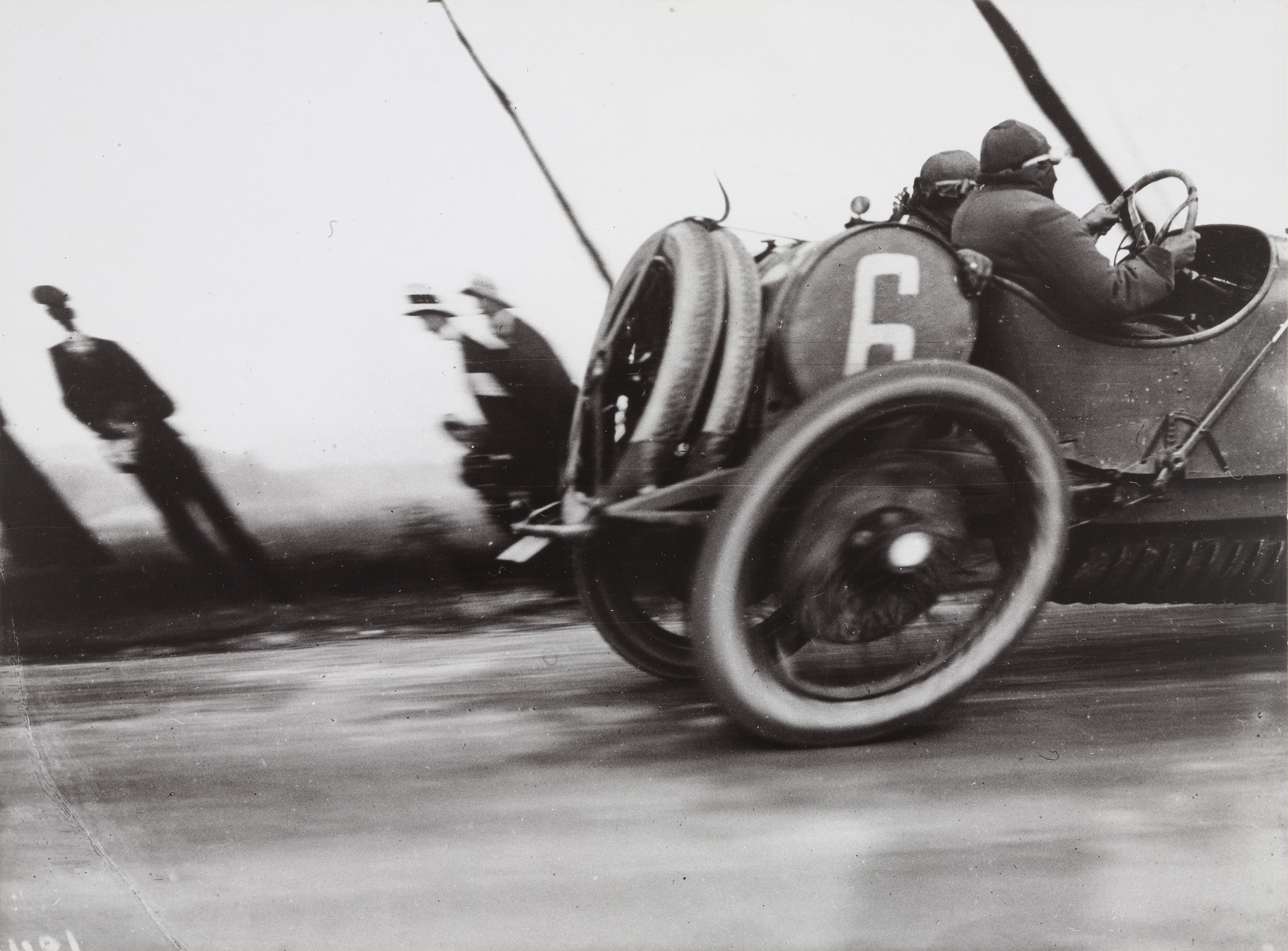 Jacques-Henri Lartigue. Grand Prix of the Automobile Club of France, Course at Dieppe. 1912