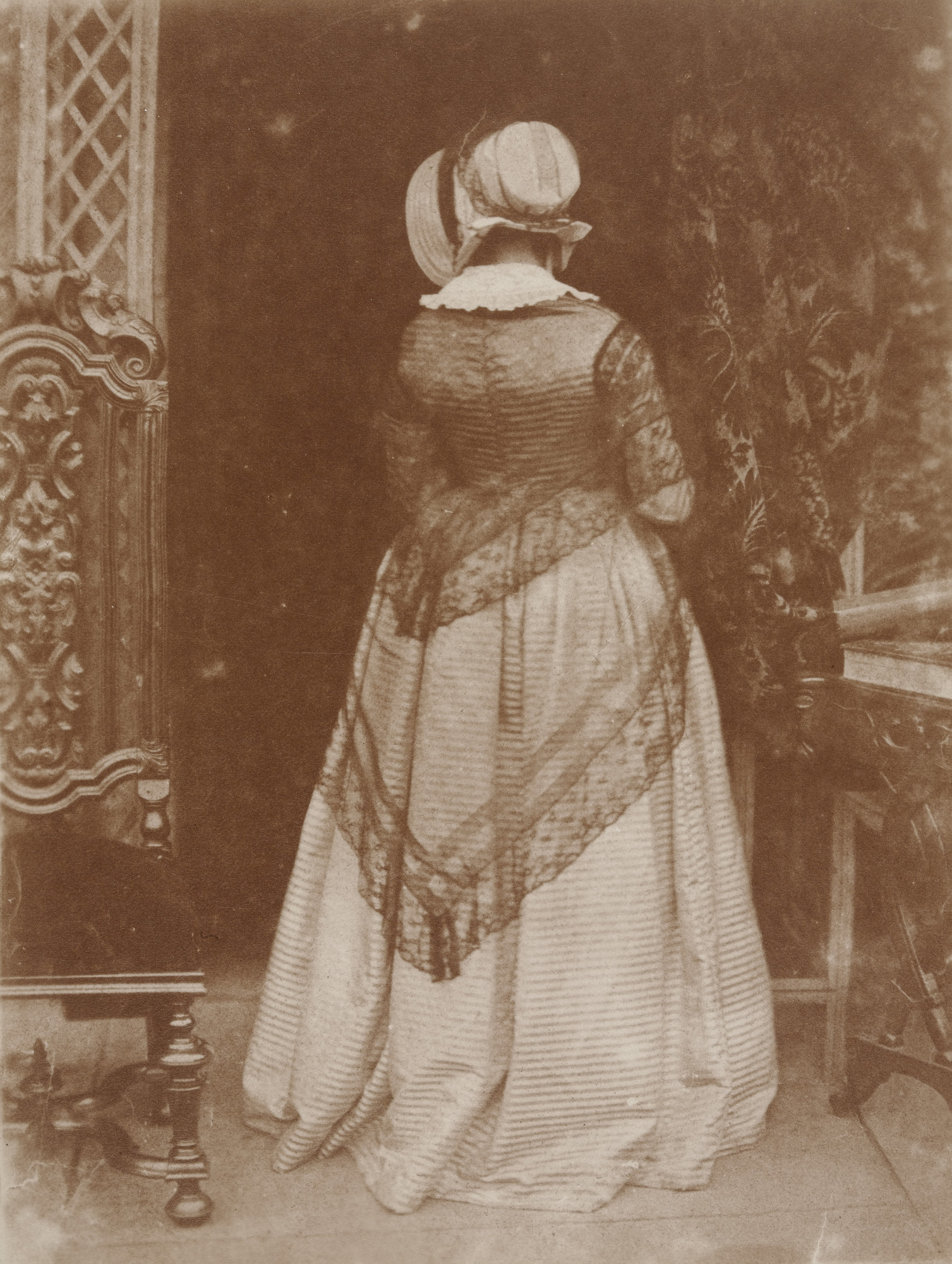 David Octavius Hill, Robert Adamson. Lady Mary Ruthven. c. 1845