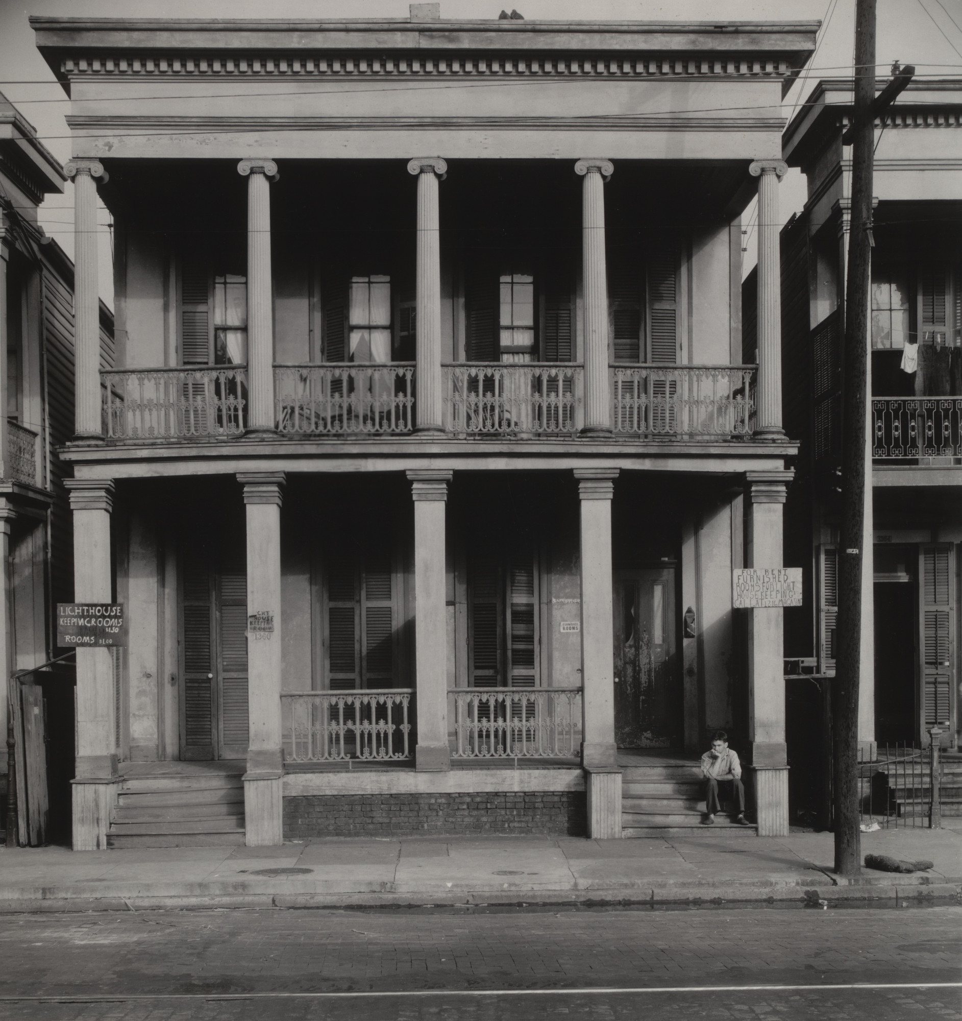 Walker Evans. New Orleans Boarding House. 1935
