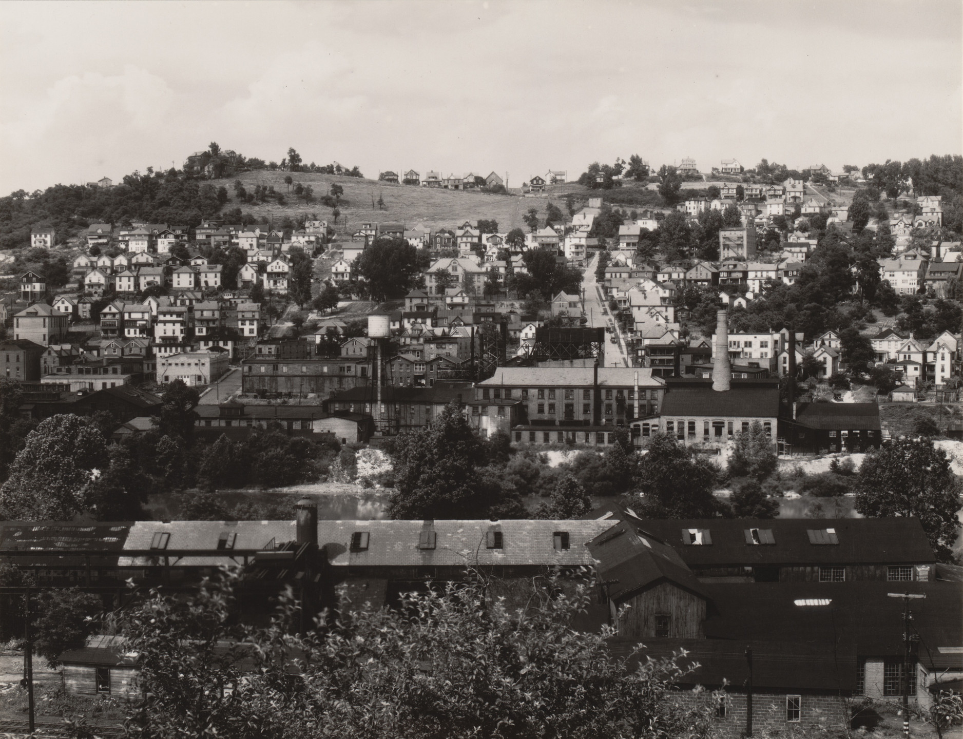 Walker Evans. View of Morgantown, West Virginia. June, 1935