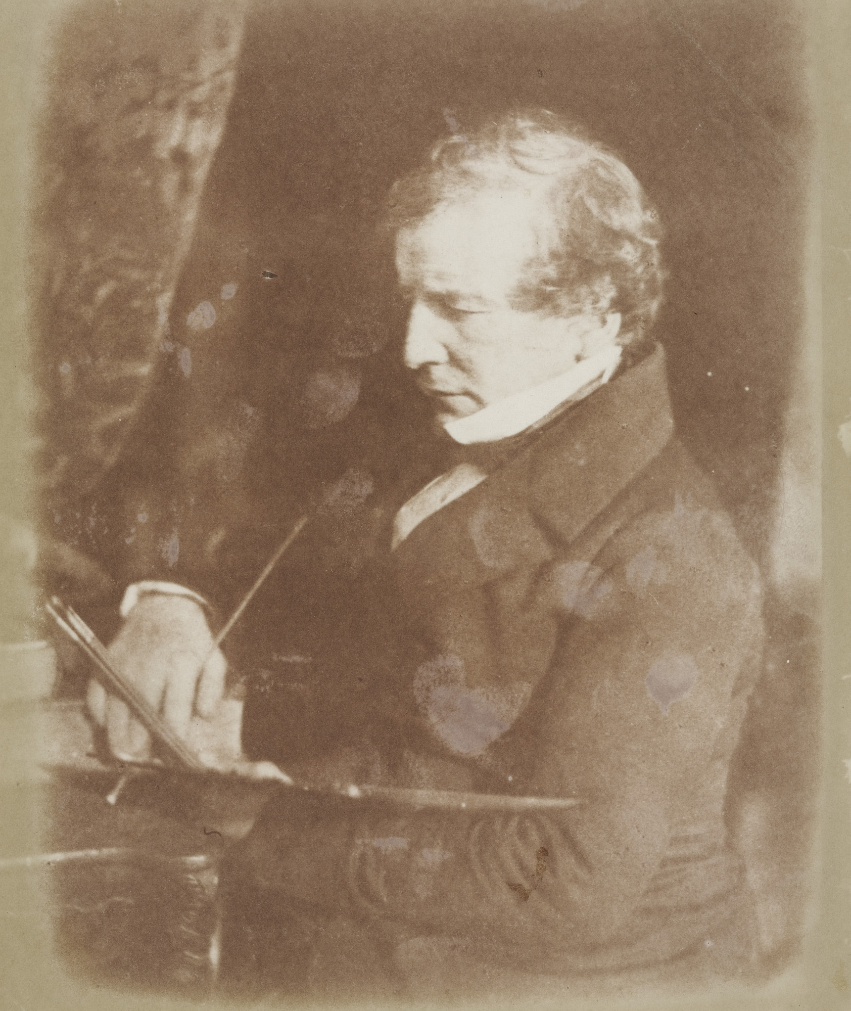 David Octavius Hill. William Etty. October 1844