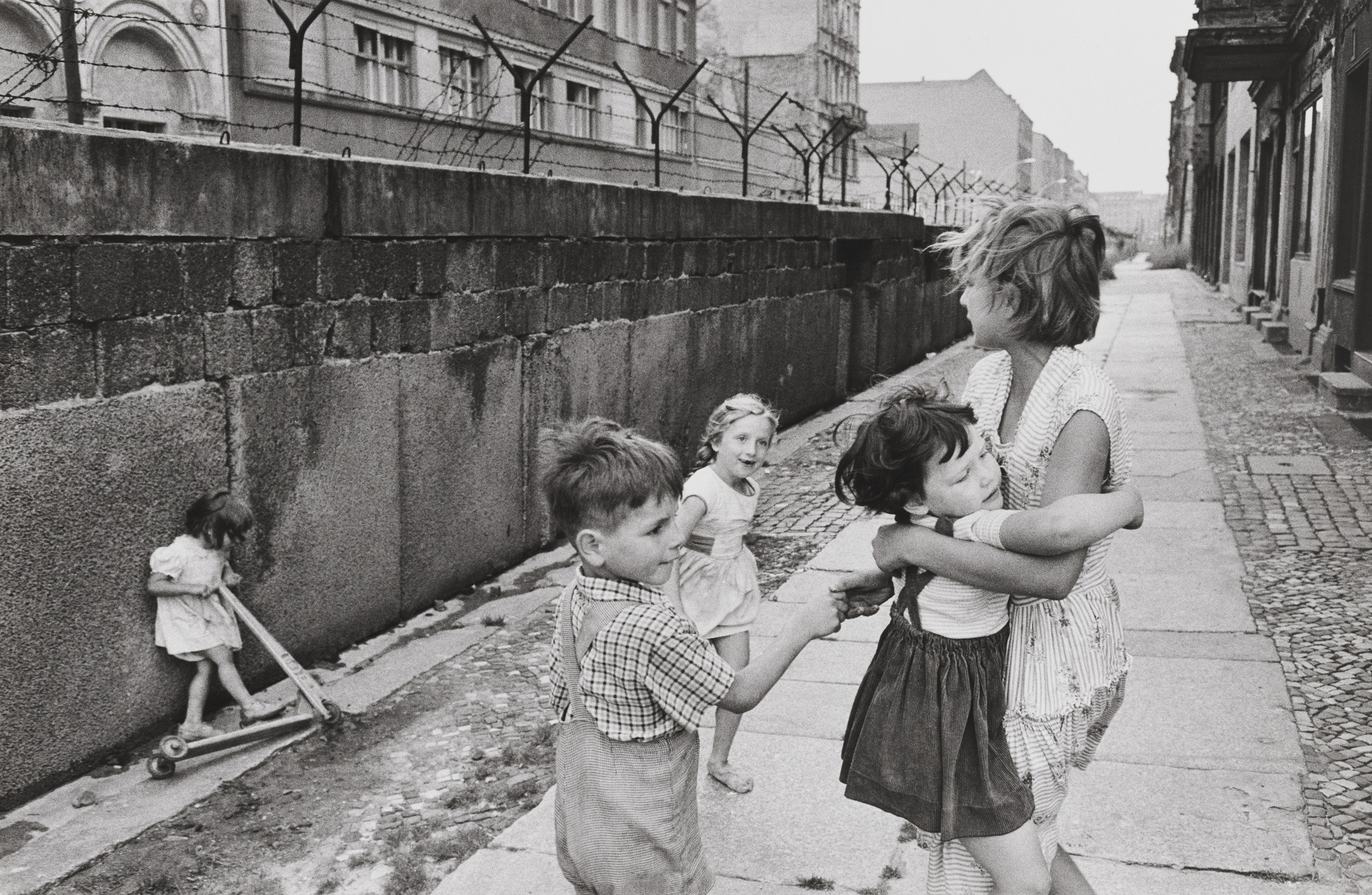 Henri Cartier-Bresson. Berlin Wall. 1963 | MoMA