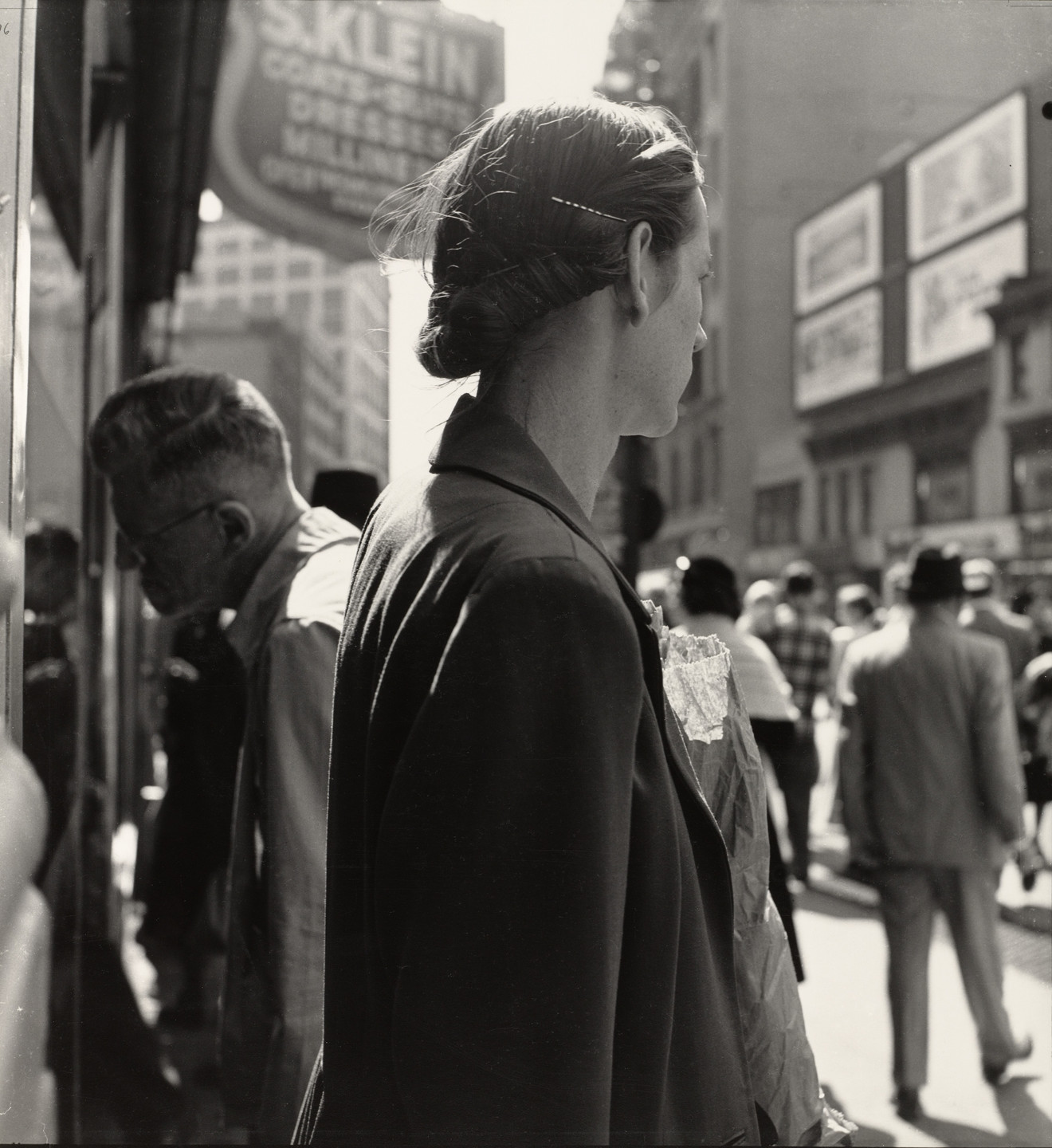 Dorothea Lange. Union Square, New York. 1952