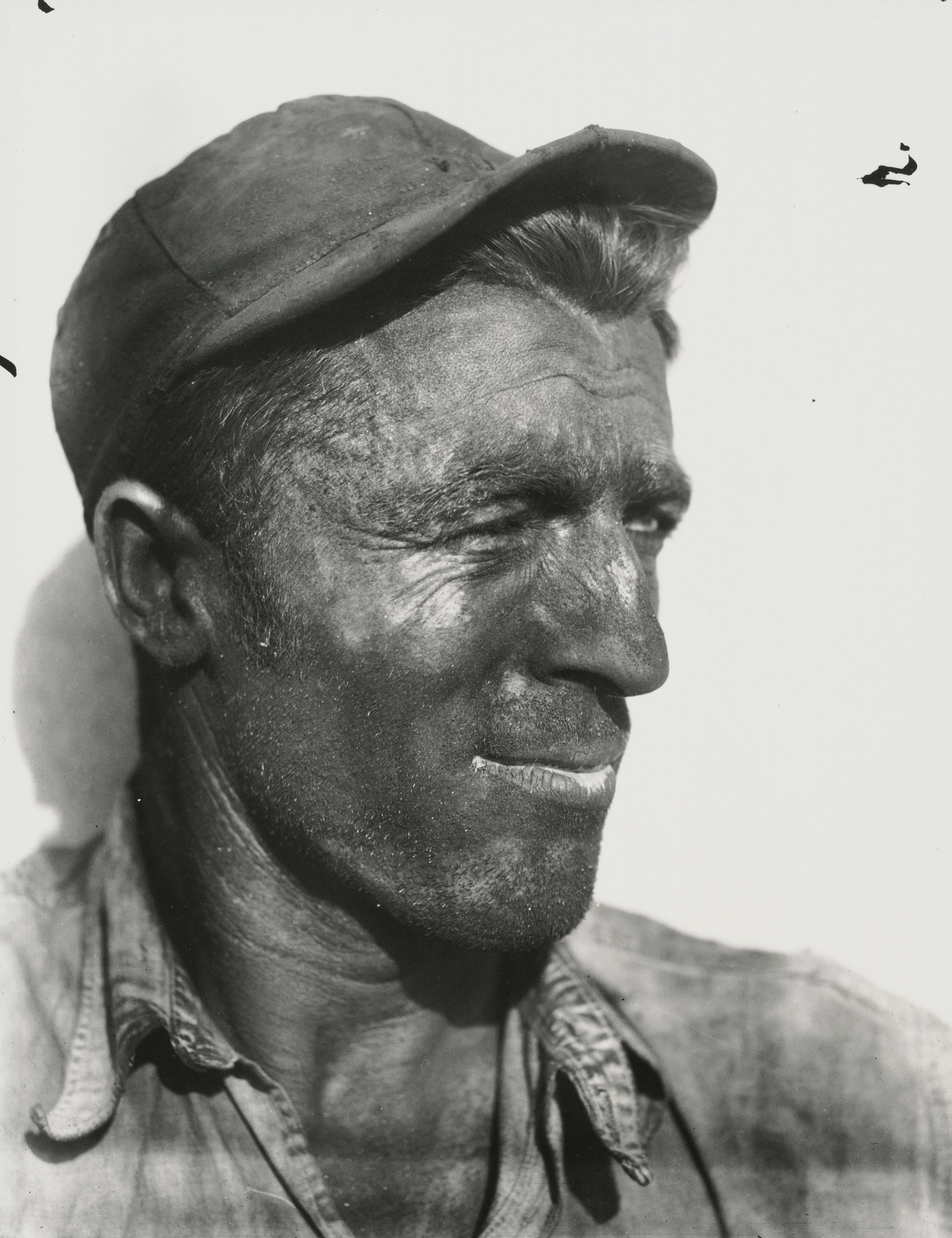 Walker Evans. Dock Worker, Havana. 1932