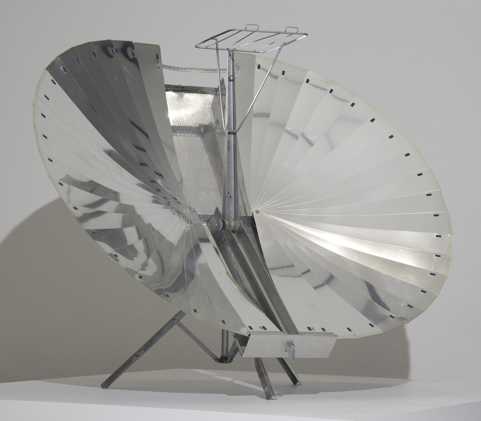 Dr. Adnan Tarcici. Solnar Tarcici Collapsible Solar Cooker. c.1970