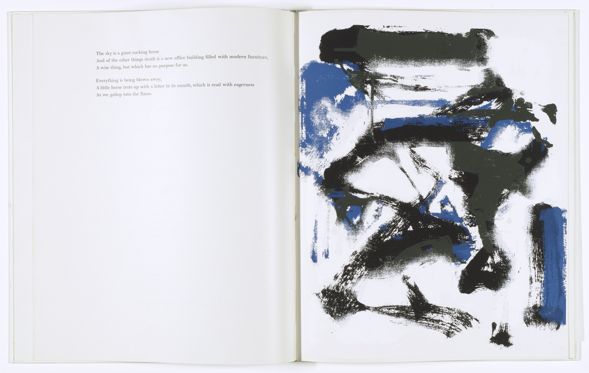 Joan Mitchell. The Poems. 1960