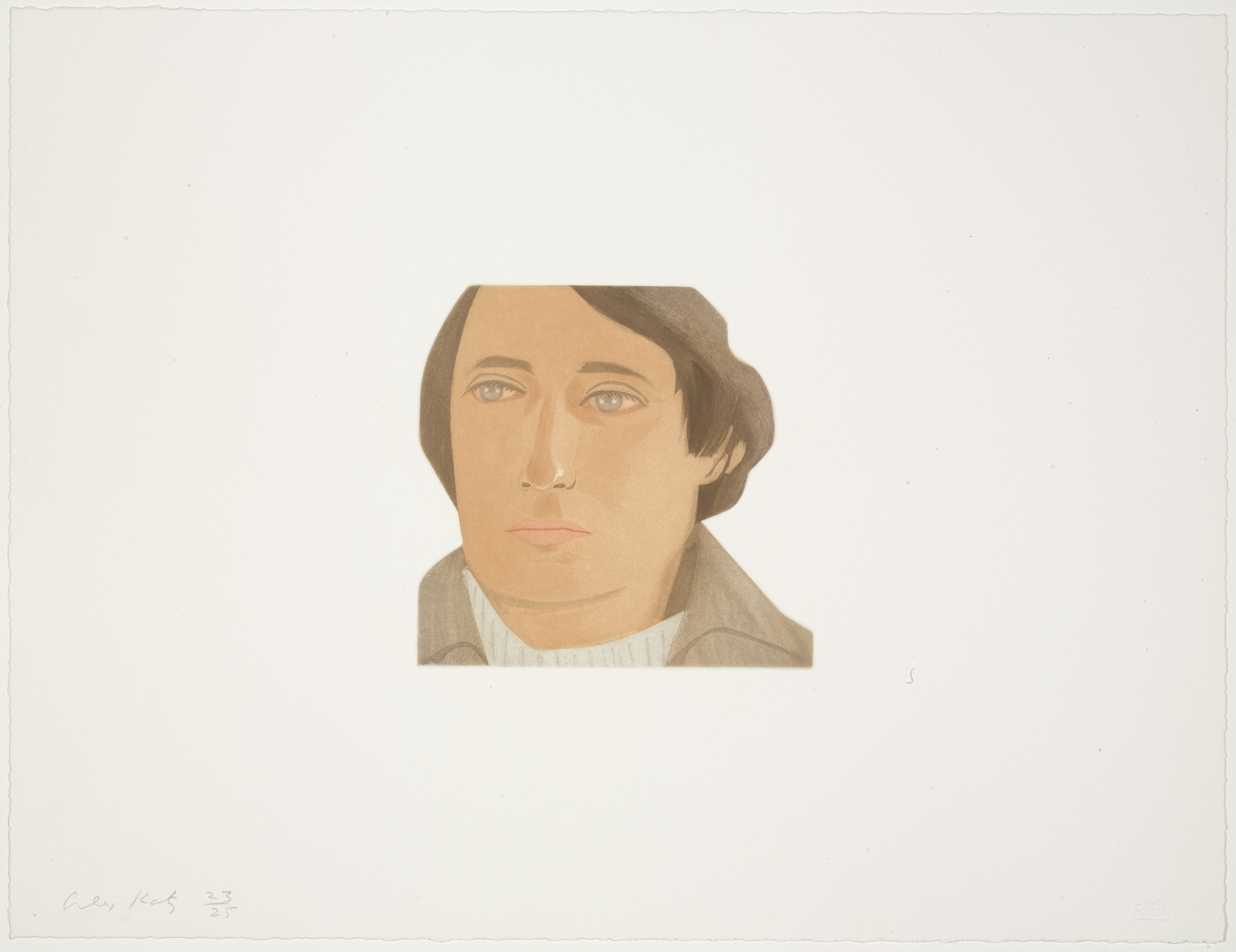 Alex Katz. Tony Towle from Face of the Poet. 1978