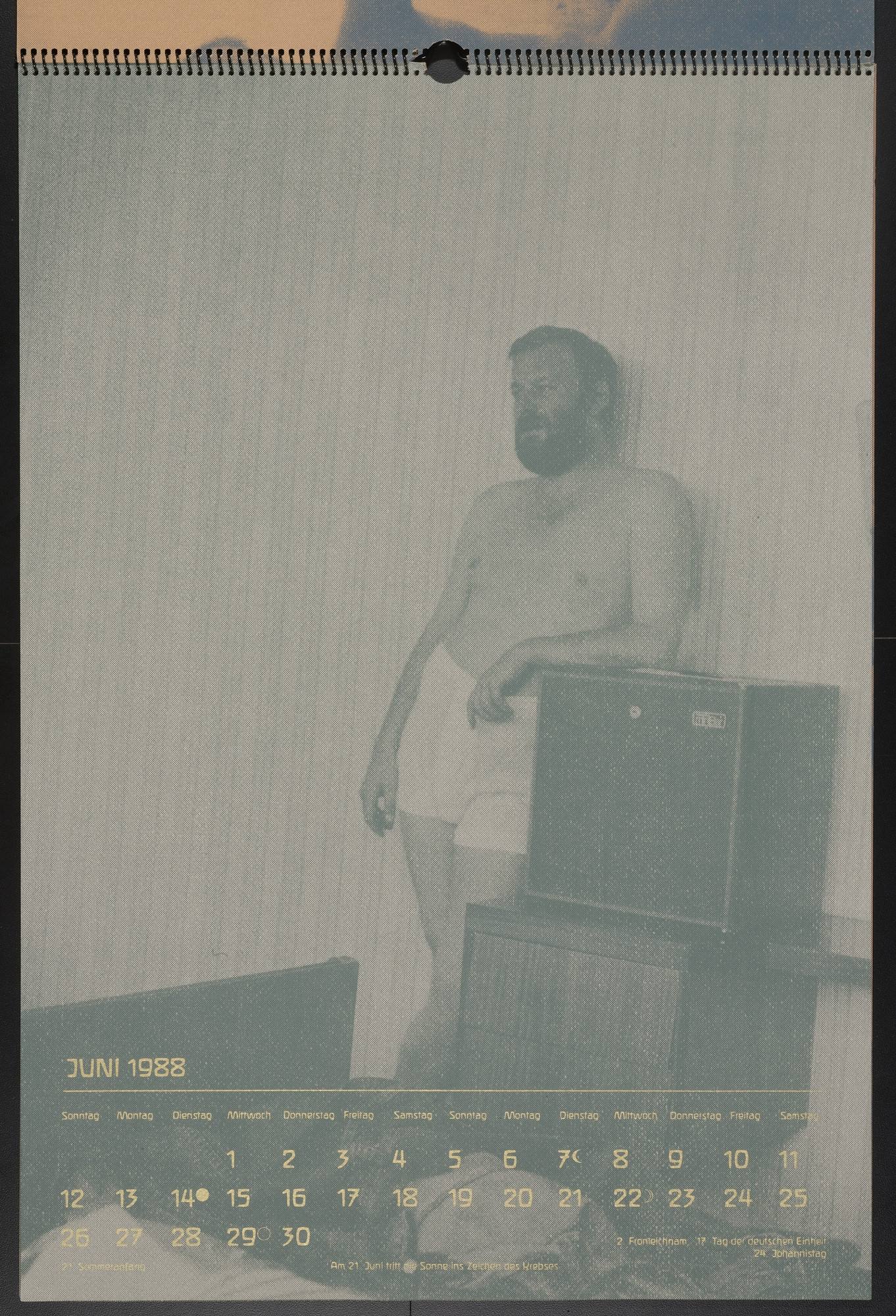 Martin Kippenberger. June 1988 from Elite '88. 1988
