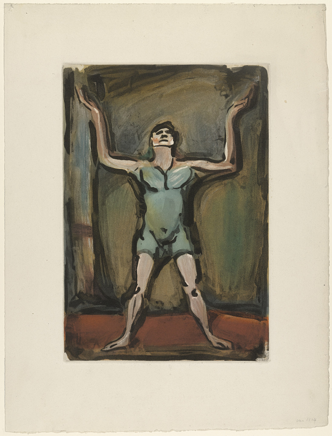 Georges Rouault. The Juggler from Cirque. 1930