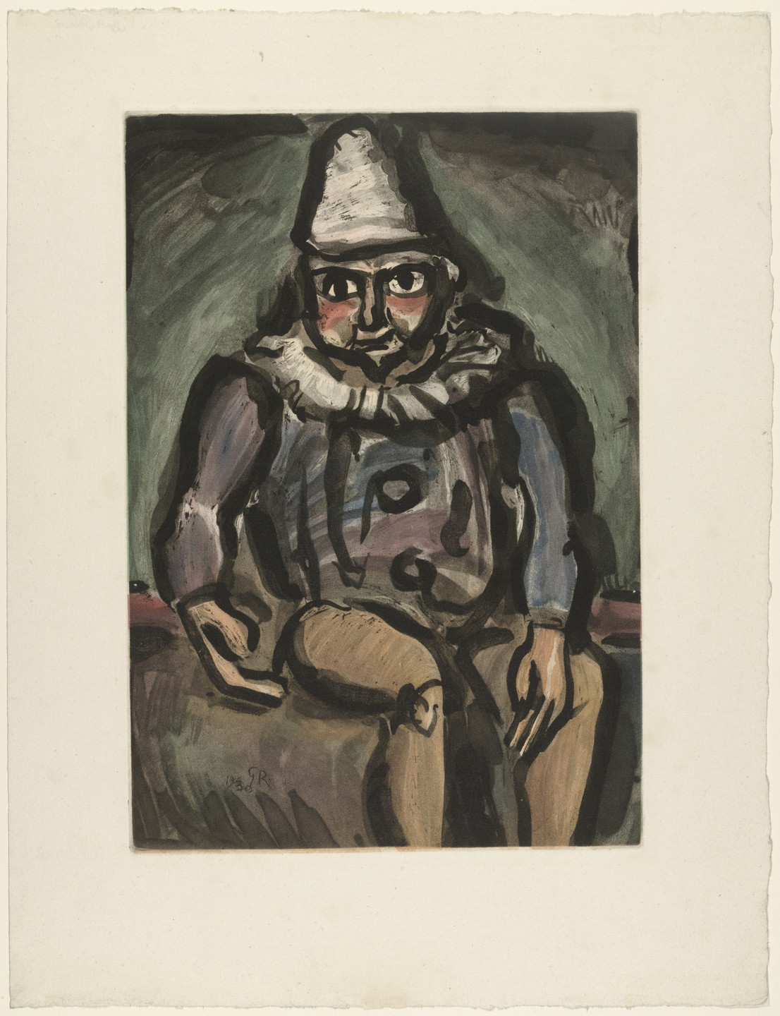 Georges Rouault. The Old Clown from Cirque. 1930