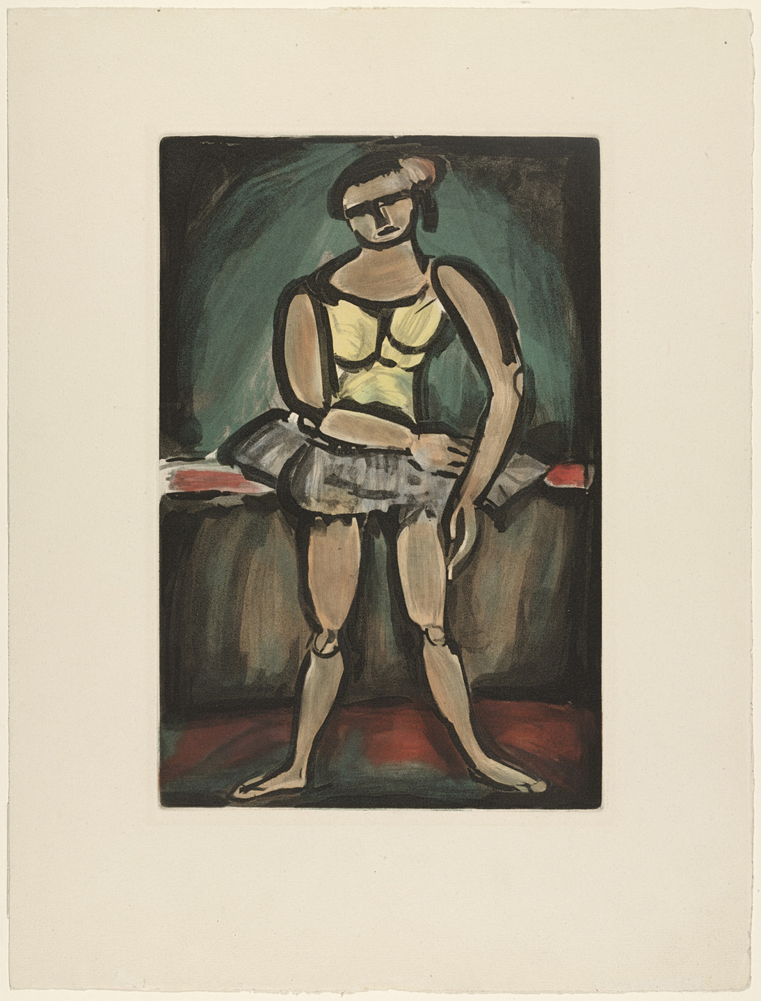 Georges Rouault. Ballerina from Cirque. 1930