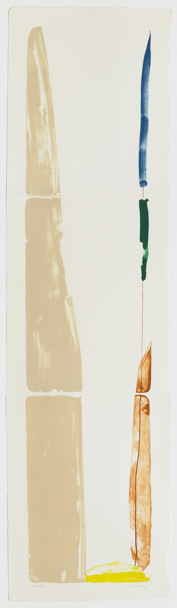 Helen Frankenthaler. Lot's Wife. 1971