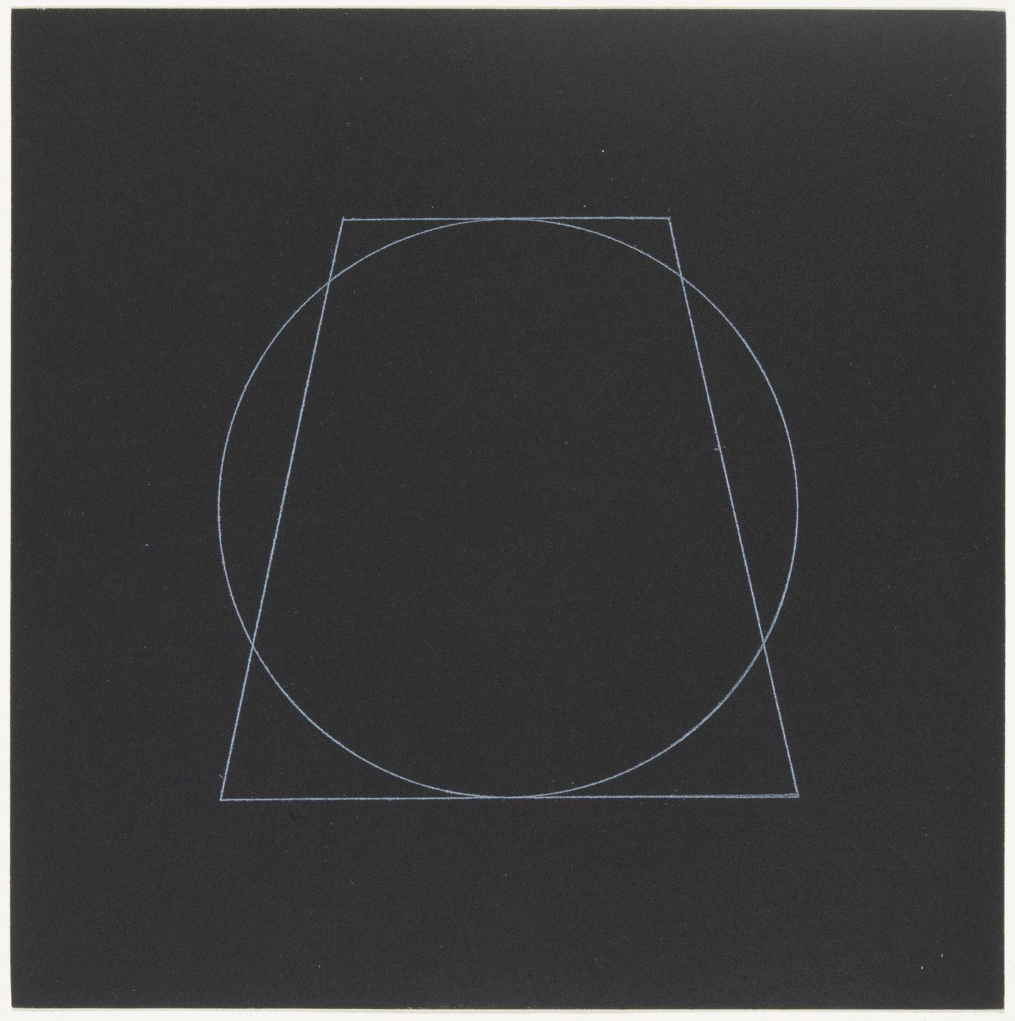 Sol LeWitt. Untitled from Six Geometric Figures, Superimposed in Pairs. 1977