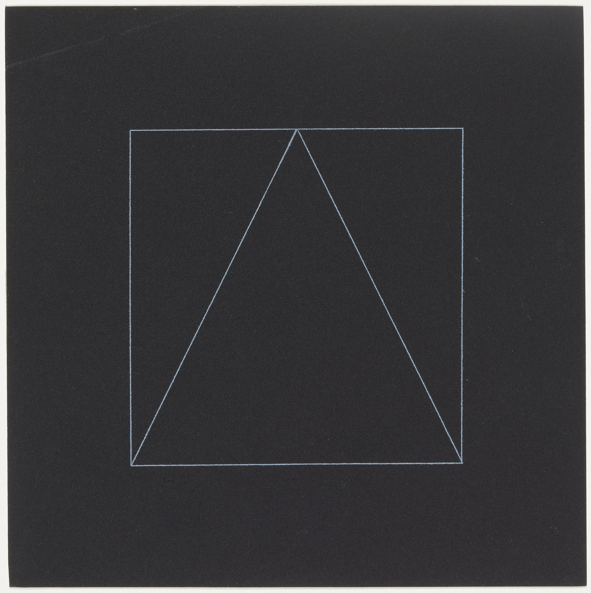 Sol LeWitt. Untitled from the series Six Geometric Figures, Superimposed in Pairs. 1977