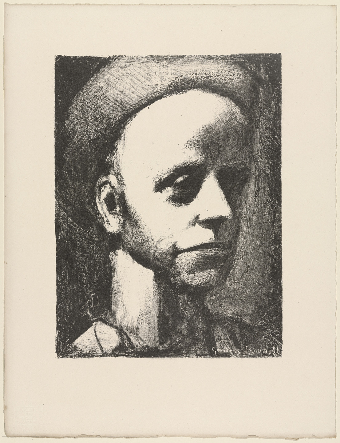 Georges Rouault. Self-Portrait with Cap. 1926