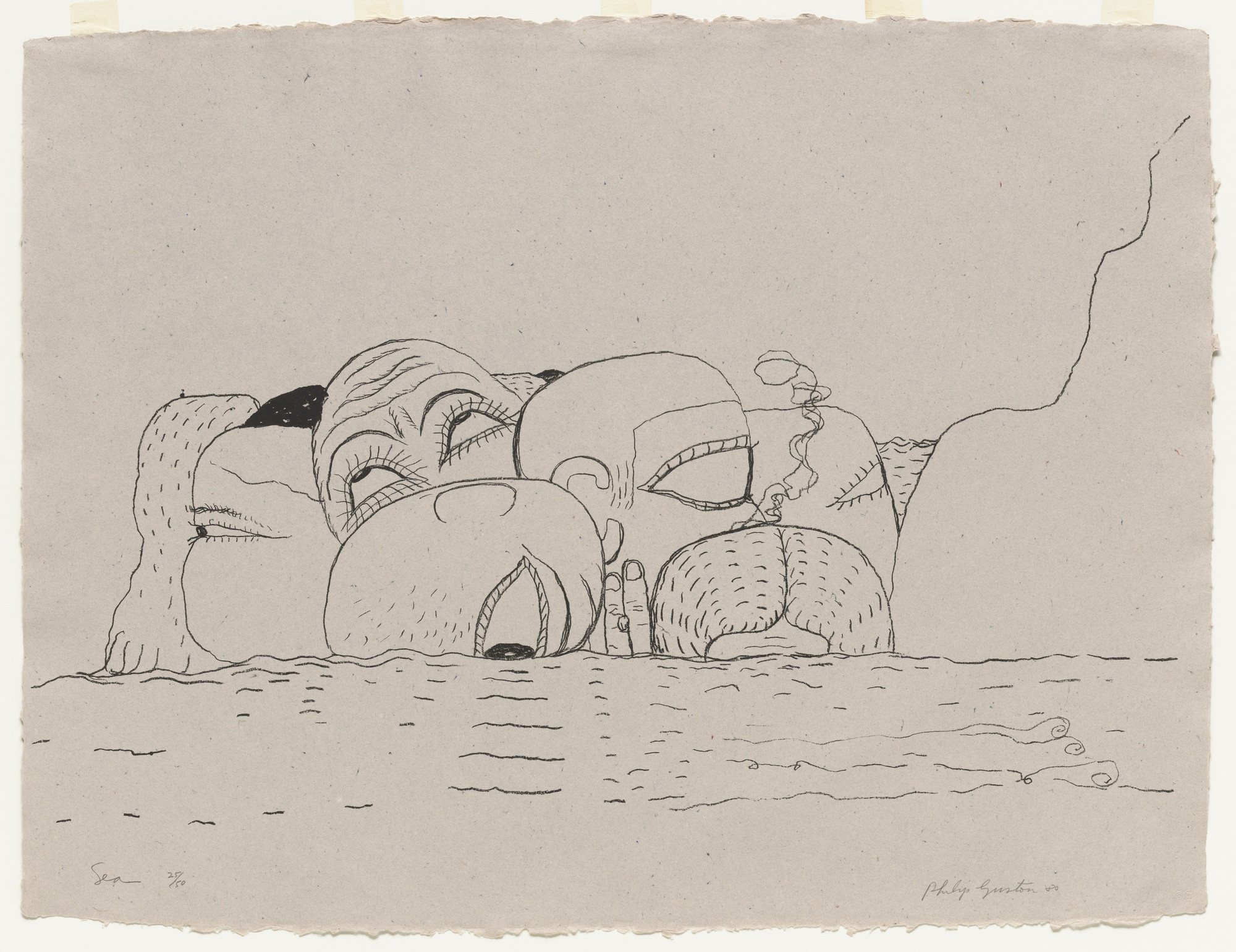 Philip Guston. Sea. 1979–80, published 1980