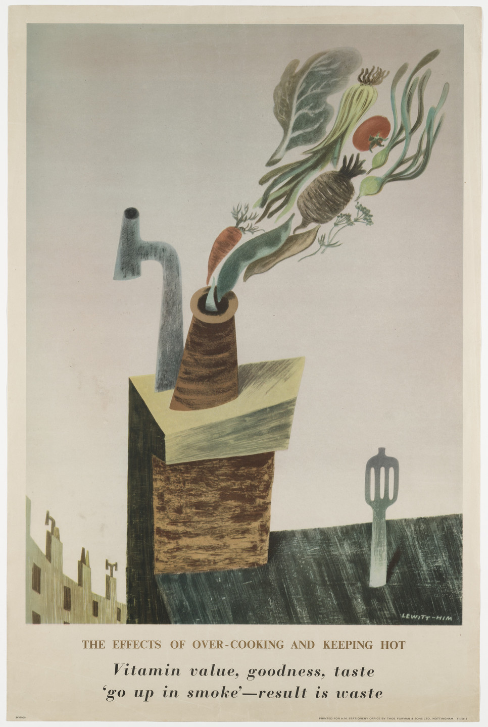 Jan Lewitt, George Him. The Effects of Overcooking and Keeping Hot. c.1944