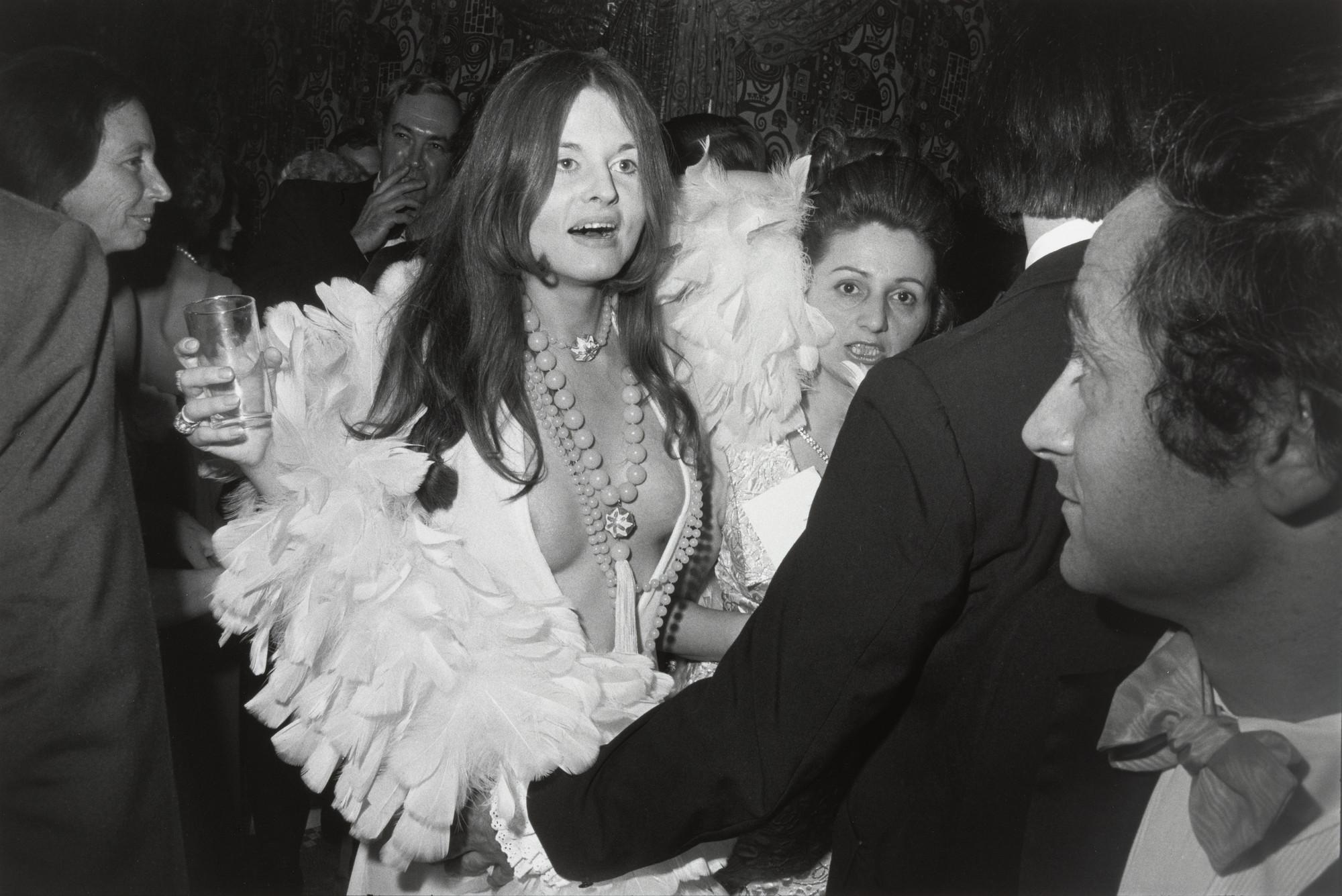 Garry Winogrand. Centennial Ball, Metropolitan Museum of Art, New York from Women are Beautiful. 1969 | MoMA