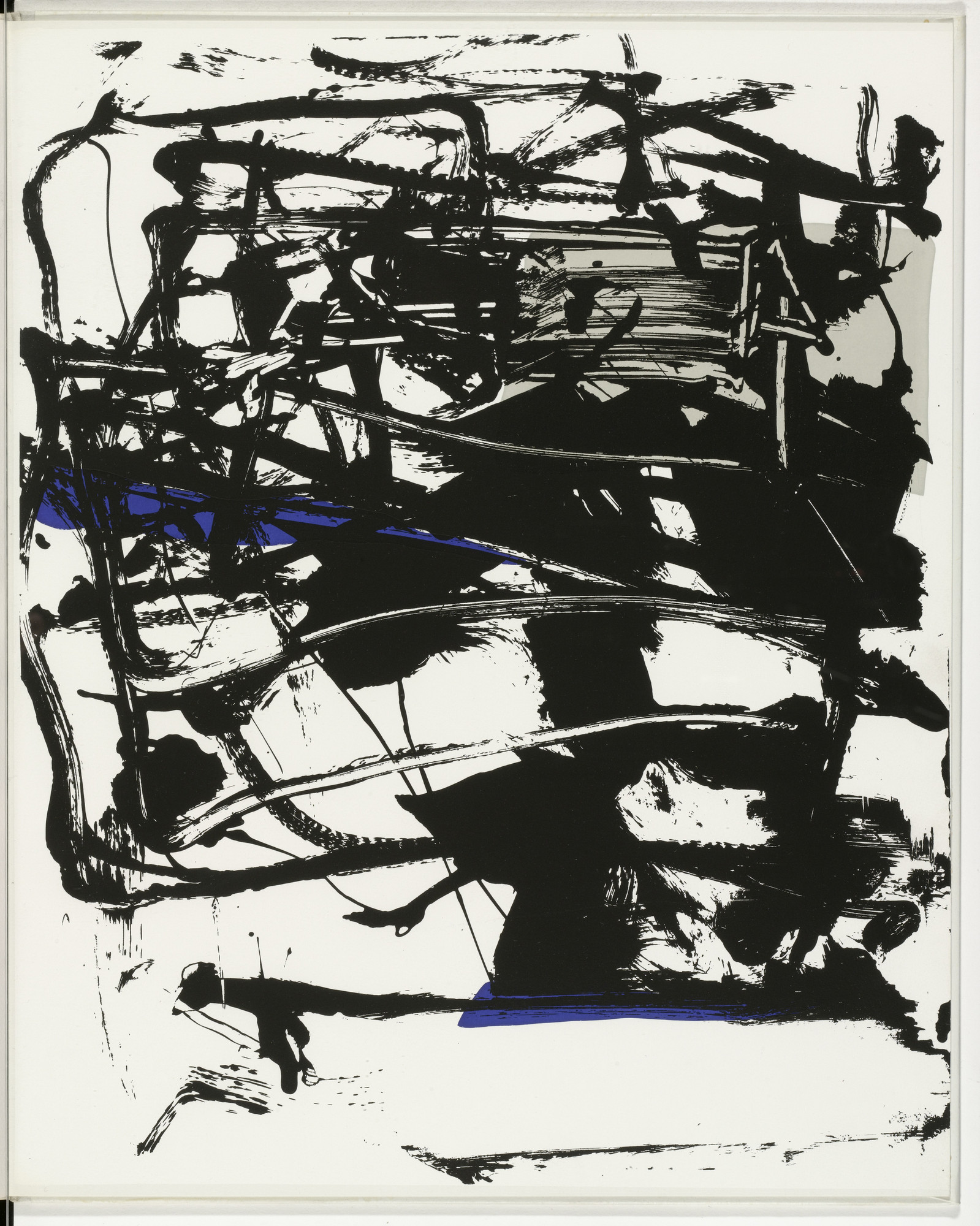 Joan Mitchell. Plate (folio 16) from The Poems. 1960