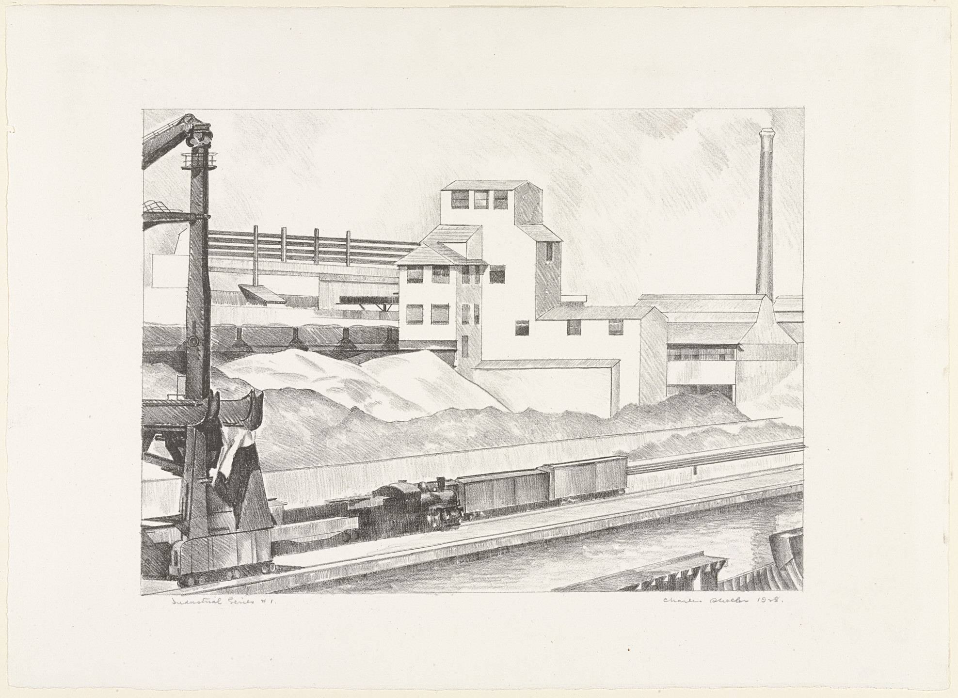 Charles Sheeler. Industrial Series #1. 1928