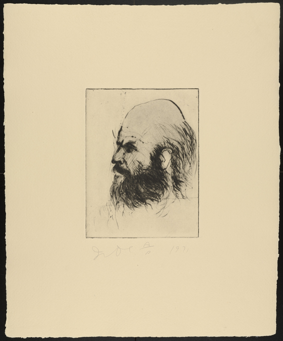 Jim Dine. Self Portraits (1971). 1971